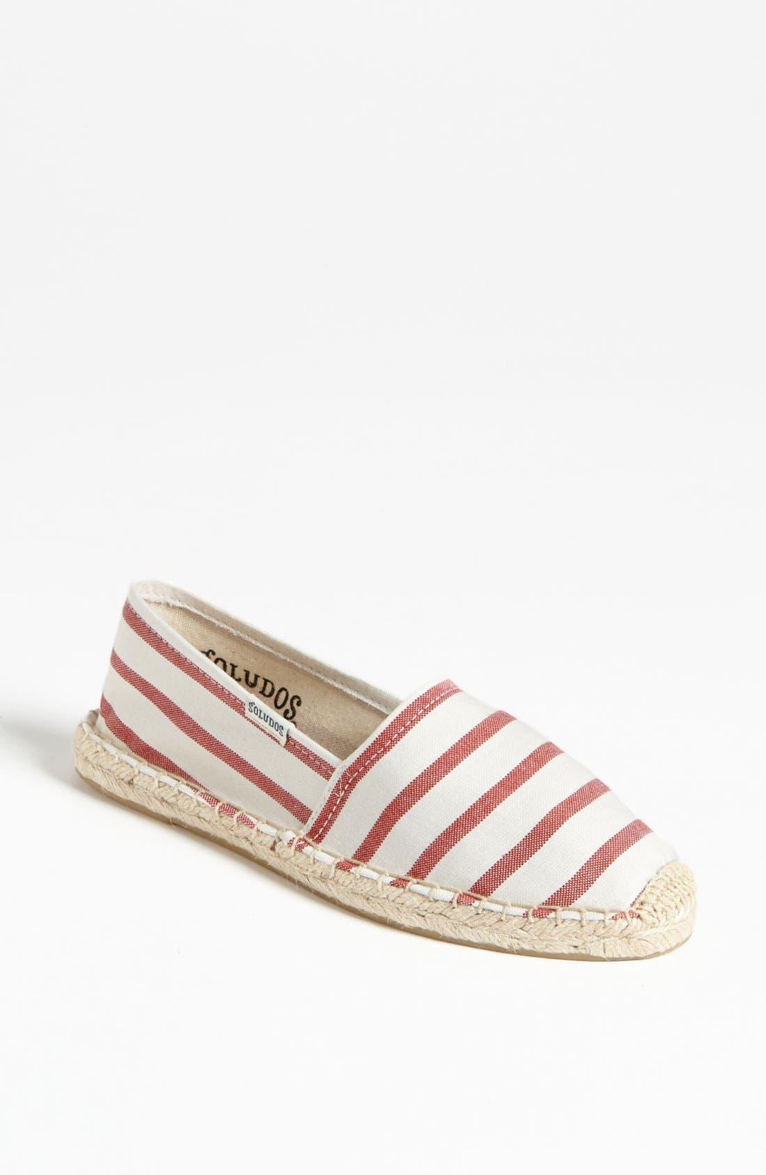 Main Image - Soludos 'Classic - Stripe' Slip-On (Women)