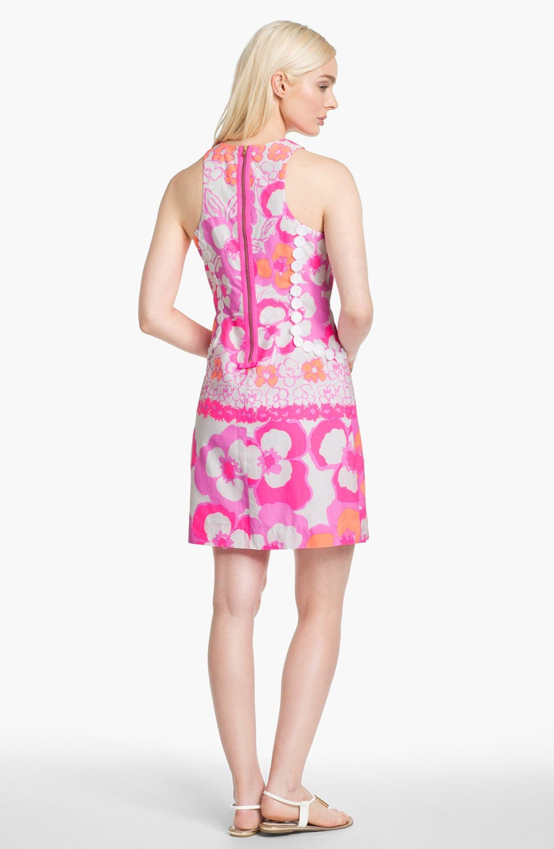 Alternate Image 2  - Lilly Pulitzer® 'Pearl' Floral Poplin Shift Dress