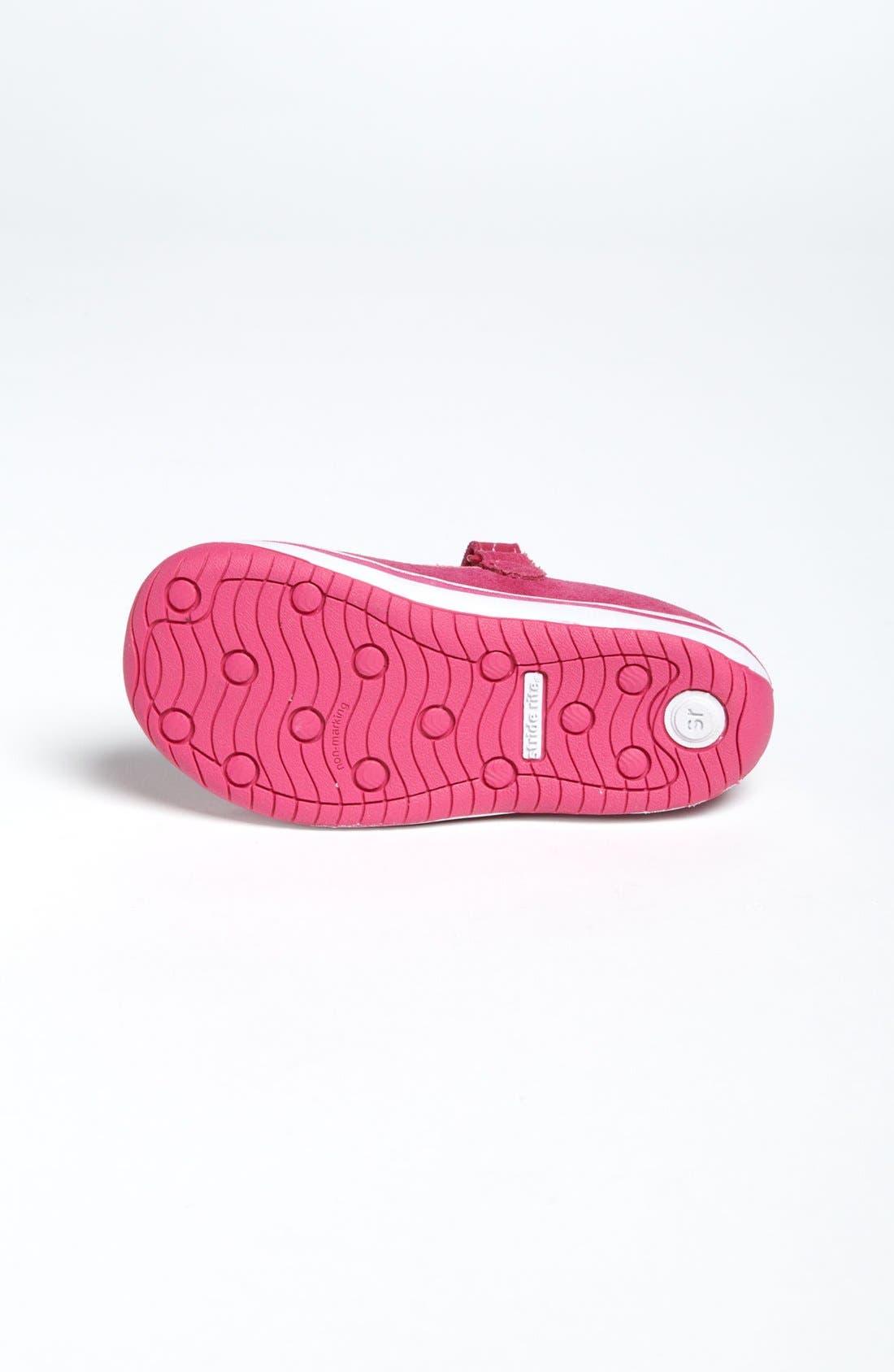 Alternate Image 4  - Stride Rite 'Jessie' Mary Jane Sneaker (Baby, Walker & Toddler)