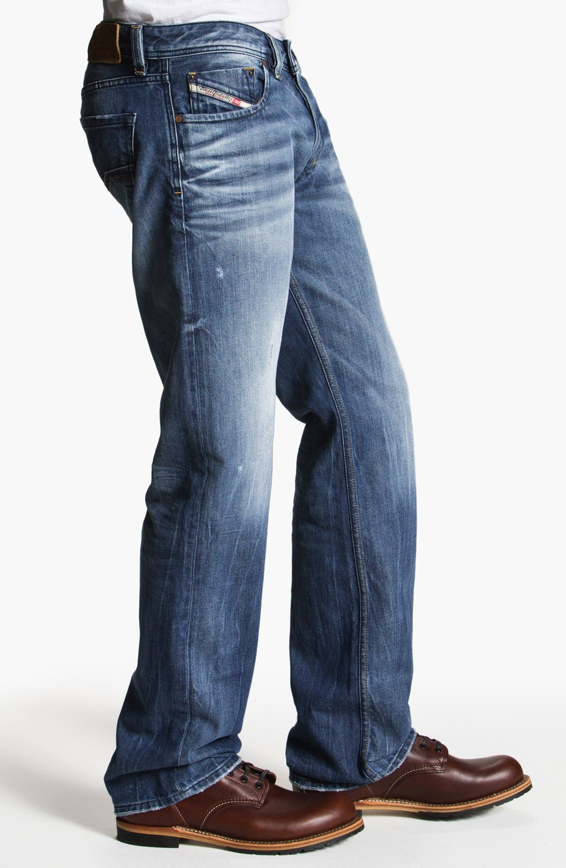 Alternate Image 3  - DIESEL® 'Larkee' Straight Leg Jeans (0805Q)