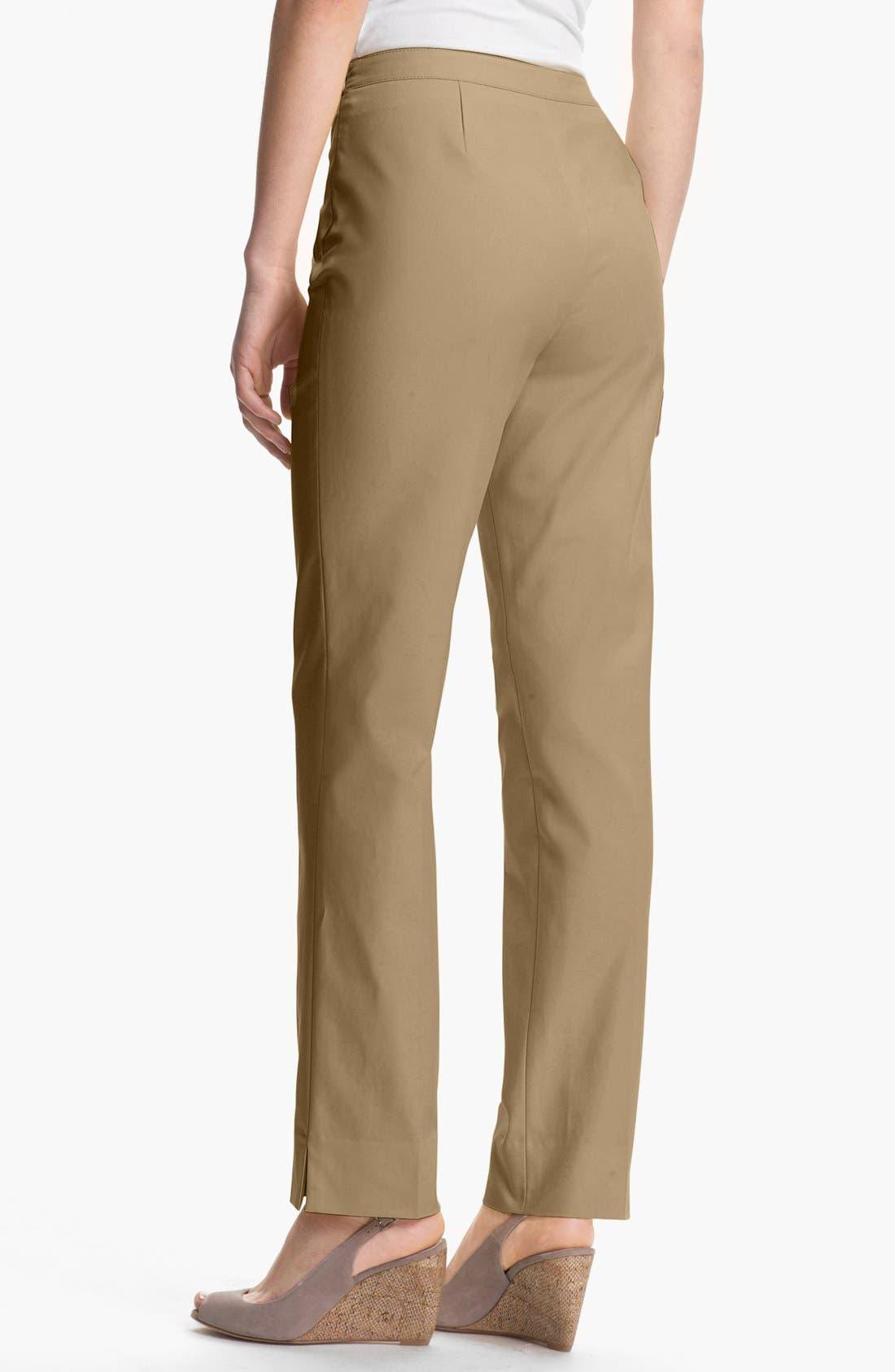 Alternate Image 2  - Lafayette 148 New York 'Bleecker - Metropolitan' Stretch Pants