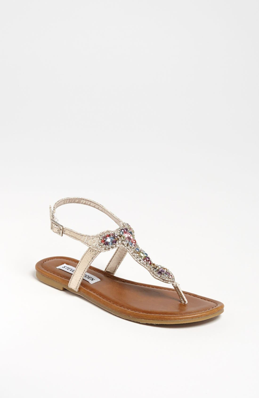 Alternate Image 1 Selected - Steve Madden 'Glare' Sandal (Toddler, Little Kid & Big Kid)