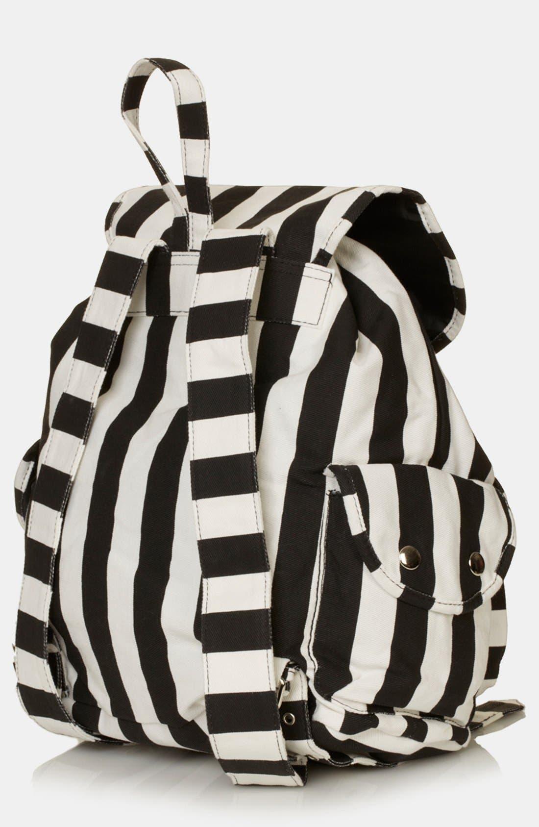 Alternate Image 3  - Topshop Stripe Backpack