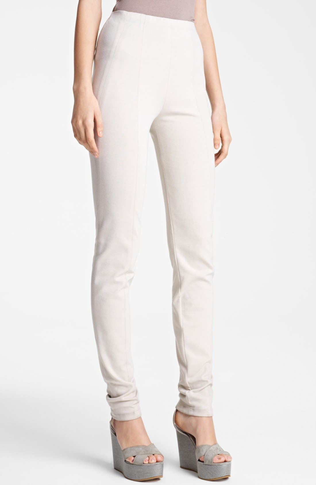 Alternate Image 1 Selected - Donna Karan Collection Double Stretch Knit Leggings