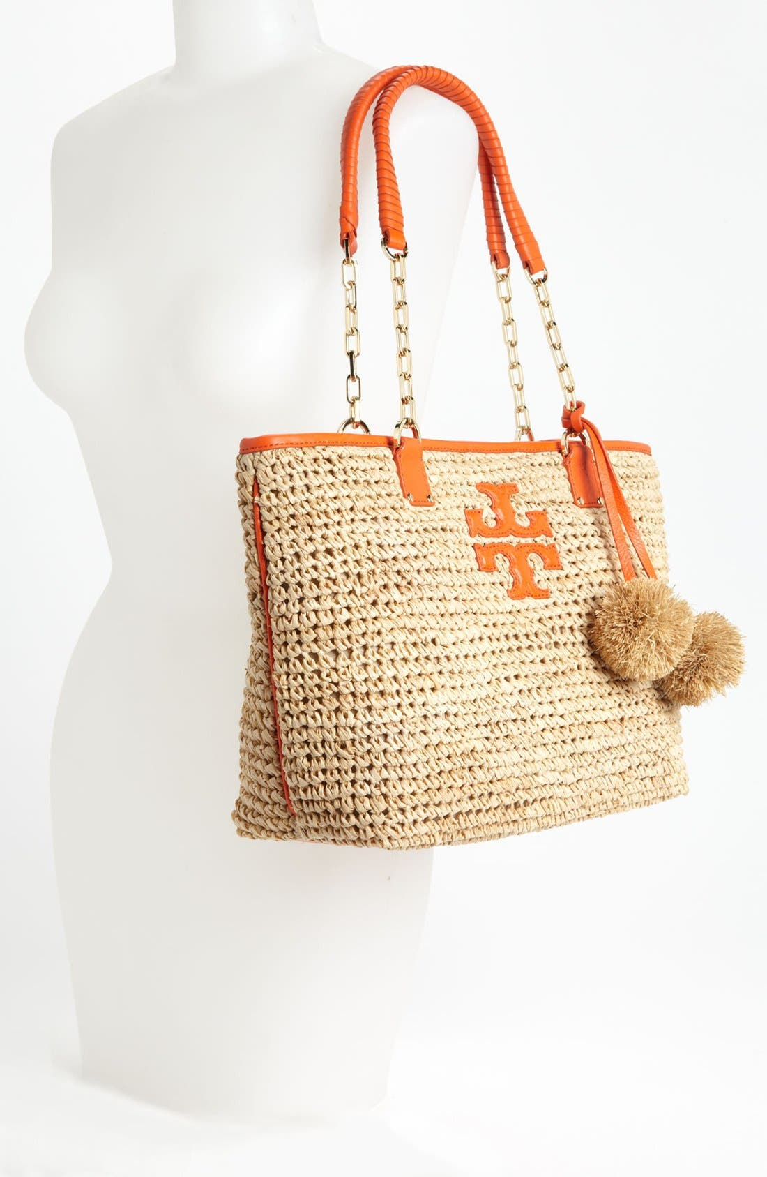 Alternate Image 2  - Tory Burch 'Thea - Small' Straw Tote
