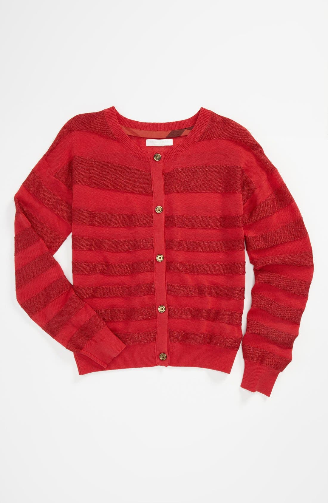 Alternate Image 1 Selected - Burberry 'Kimberly' Cardigan (Little Girls & Big Girls)