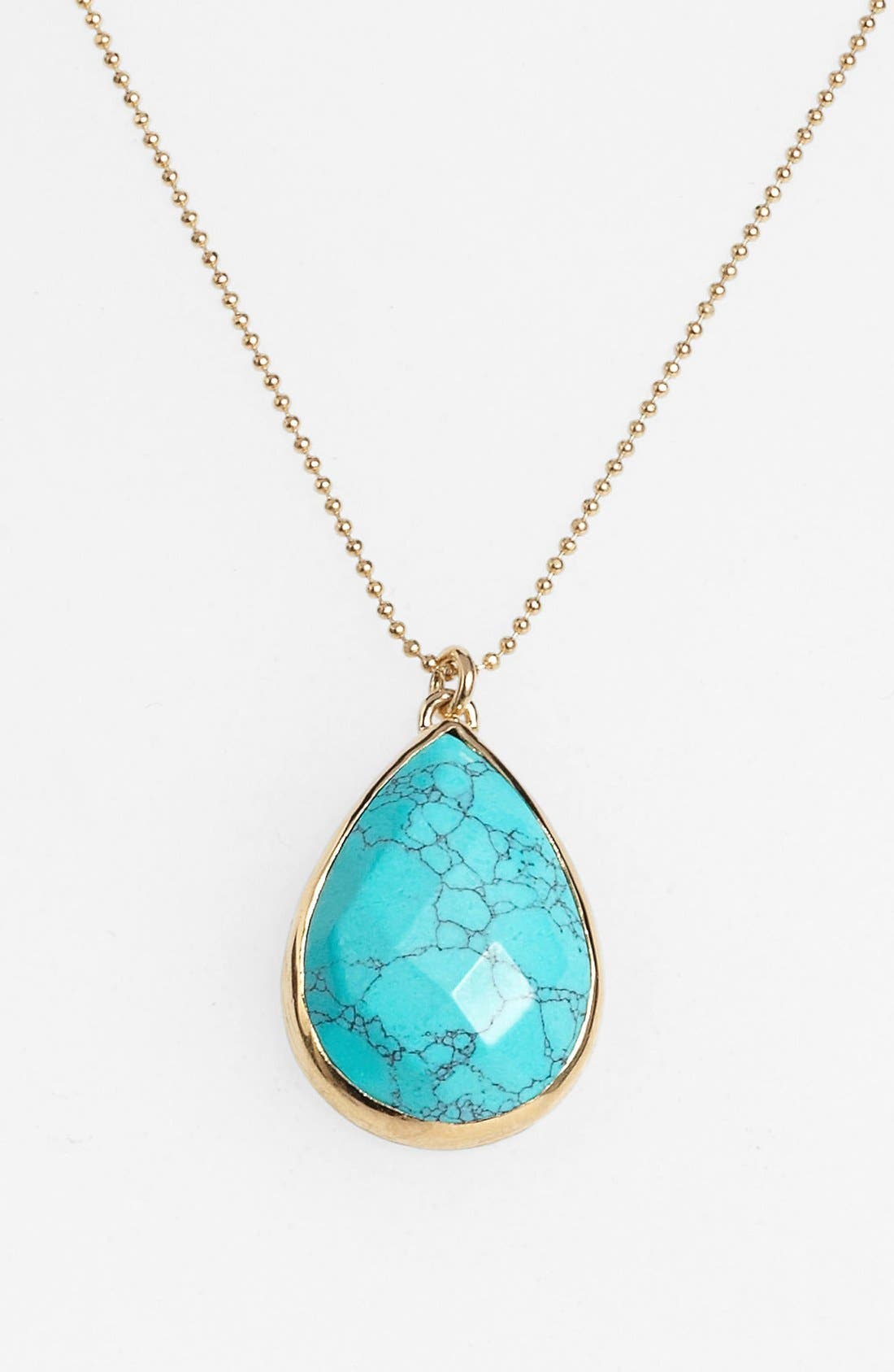 Alternate Image 1 Selected - Melinda Maria 'Milton' Teardrop Pendant Necklace