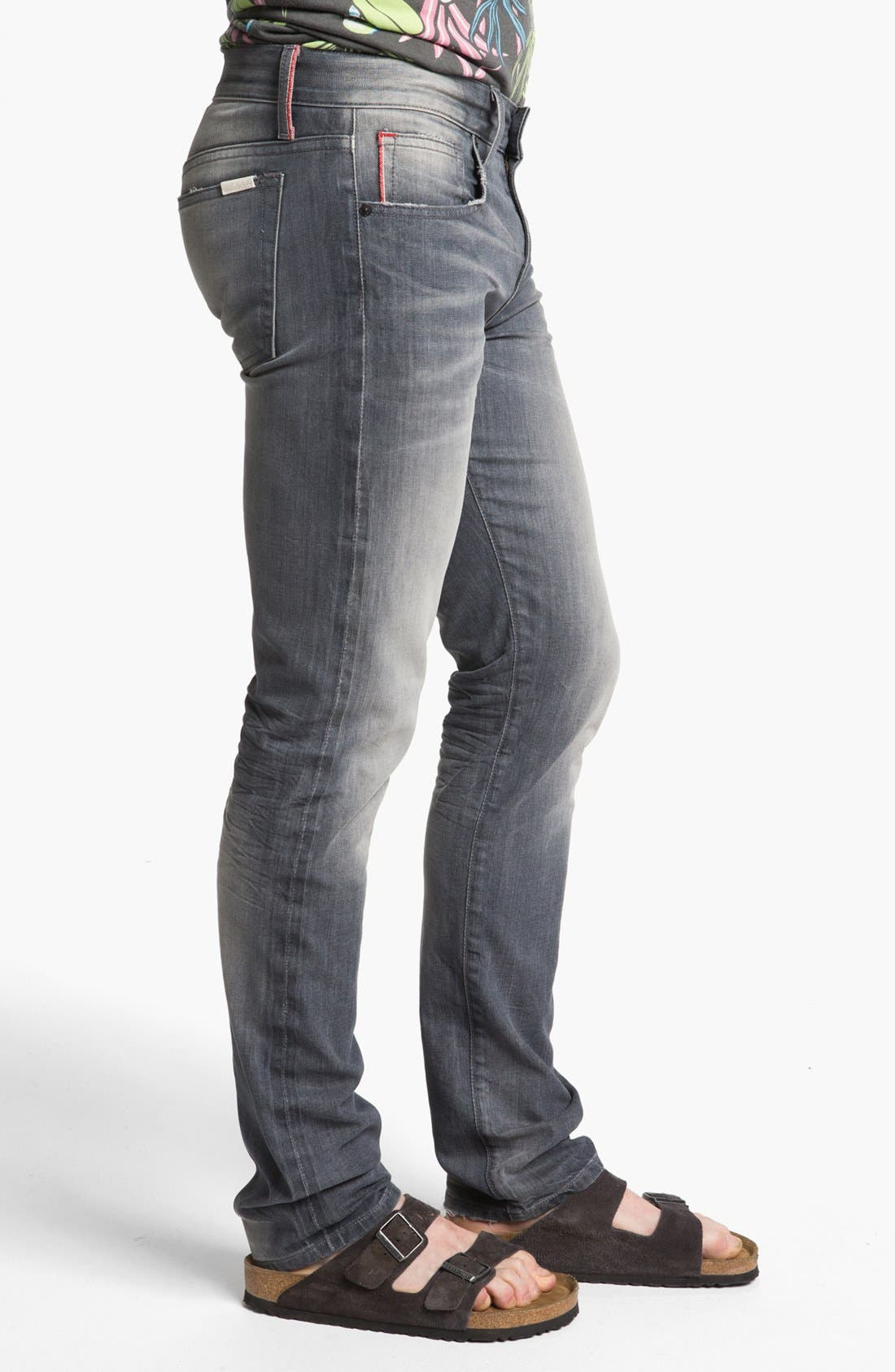 Alternate Image 3  - Joe's 'Slim' Skinny Fit Selvedge Jeans (Briggs)