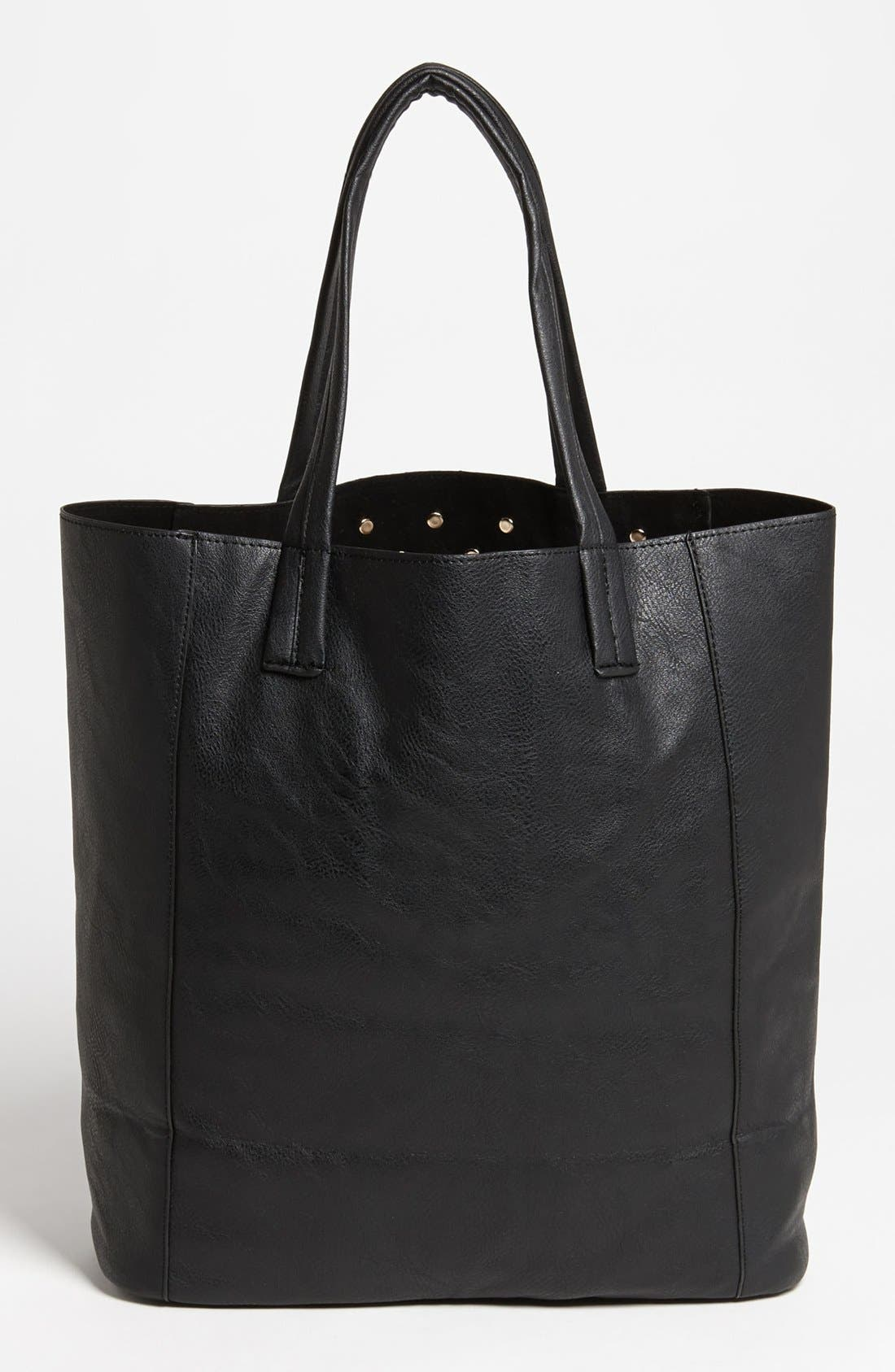 Alternate Image 4  - BP. Studded Faux Leather Tote