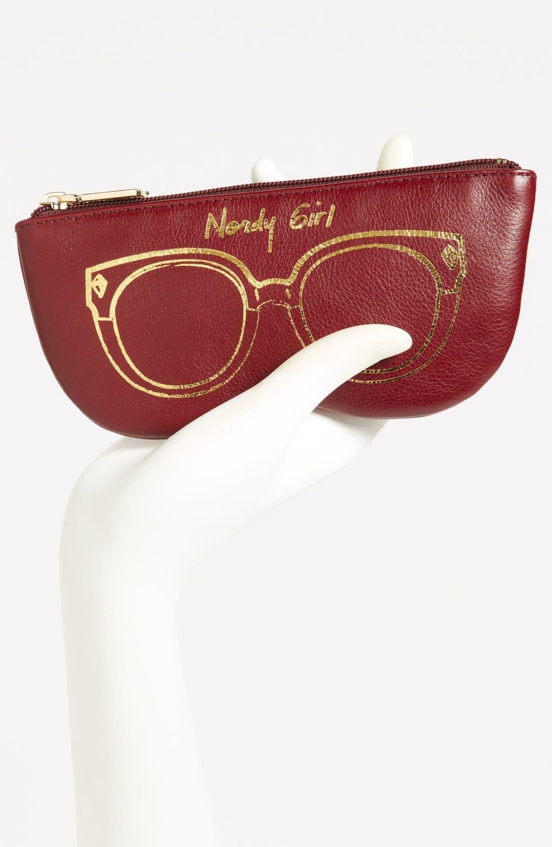 Alternate Image 2  - Rebecca Minkoff 'Nordy Girl' Leather Sunglasses Case