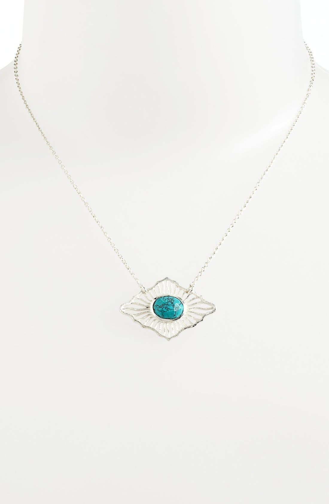 Alternate Image 1 Selected - Argento Vivo 'Valencia' Pendant Necklace (Nordstrom Exclusive)