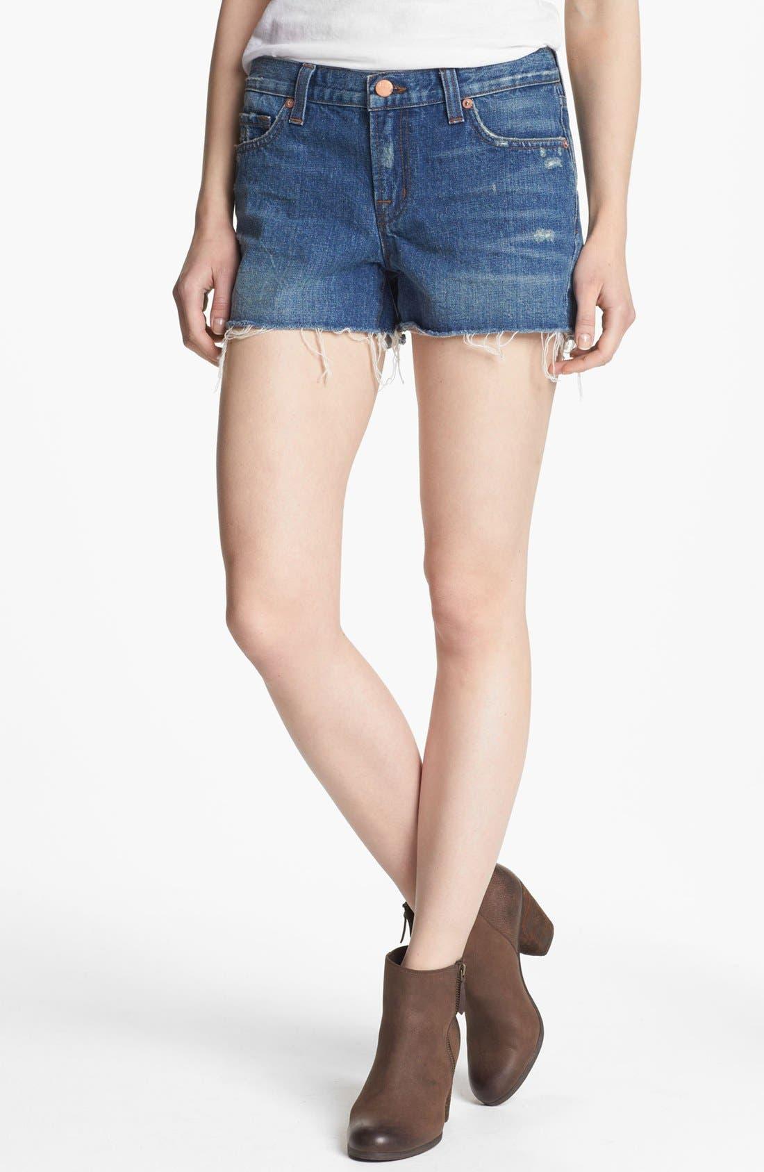 Alternate Image 1 Selected - J Brand Cutoff Denim Shorts (Libra)