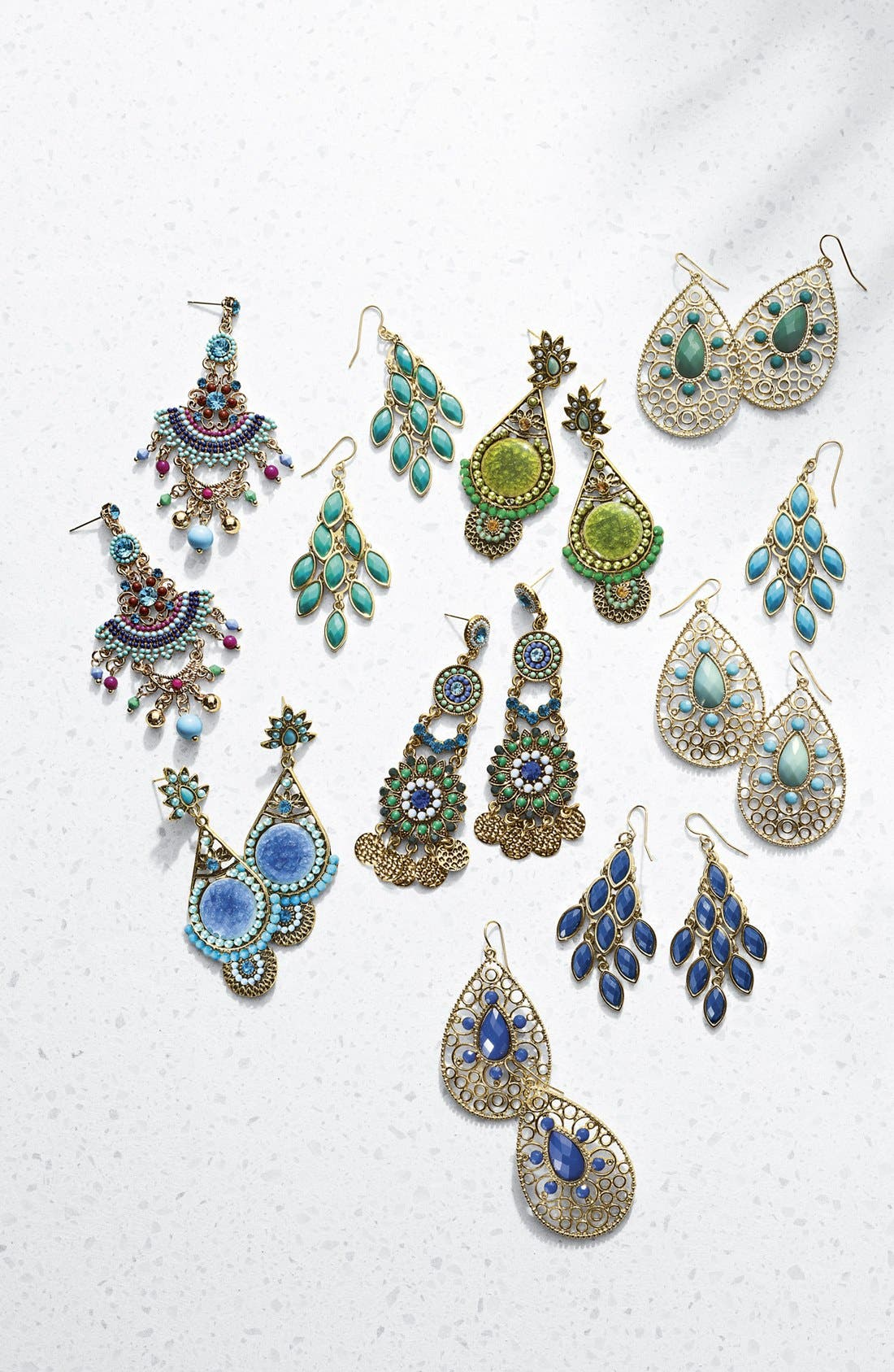 Alternate Image 2  - Tasha Stone Chandelier Earrings