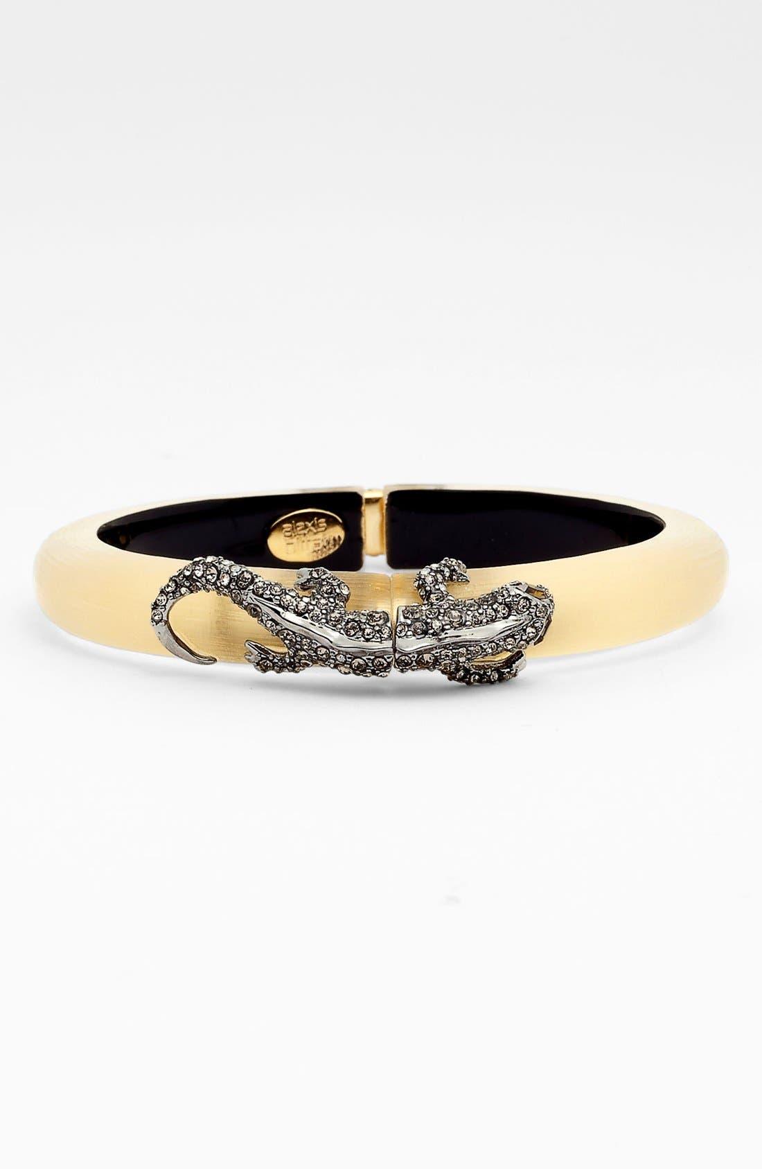 Main Image - Alexis Bittar 'Lucite® - Durban' Salamander Hinged Bracelet