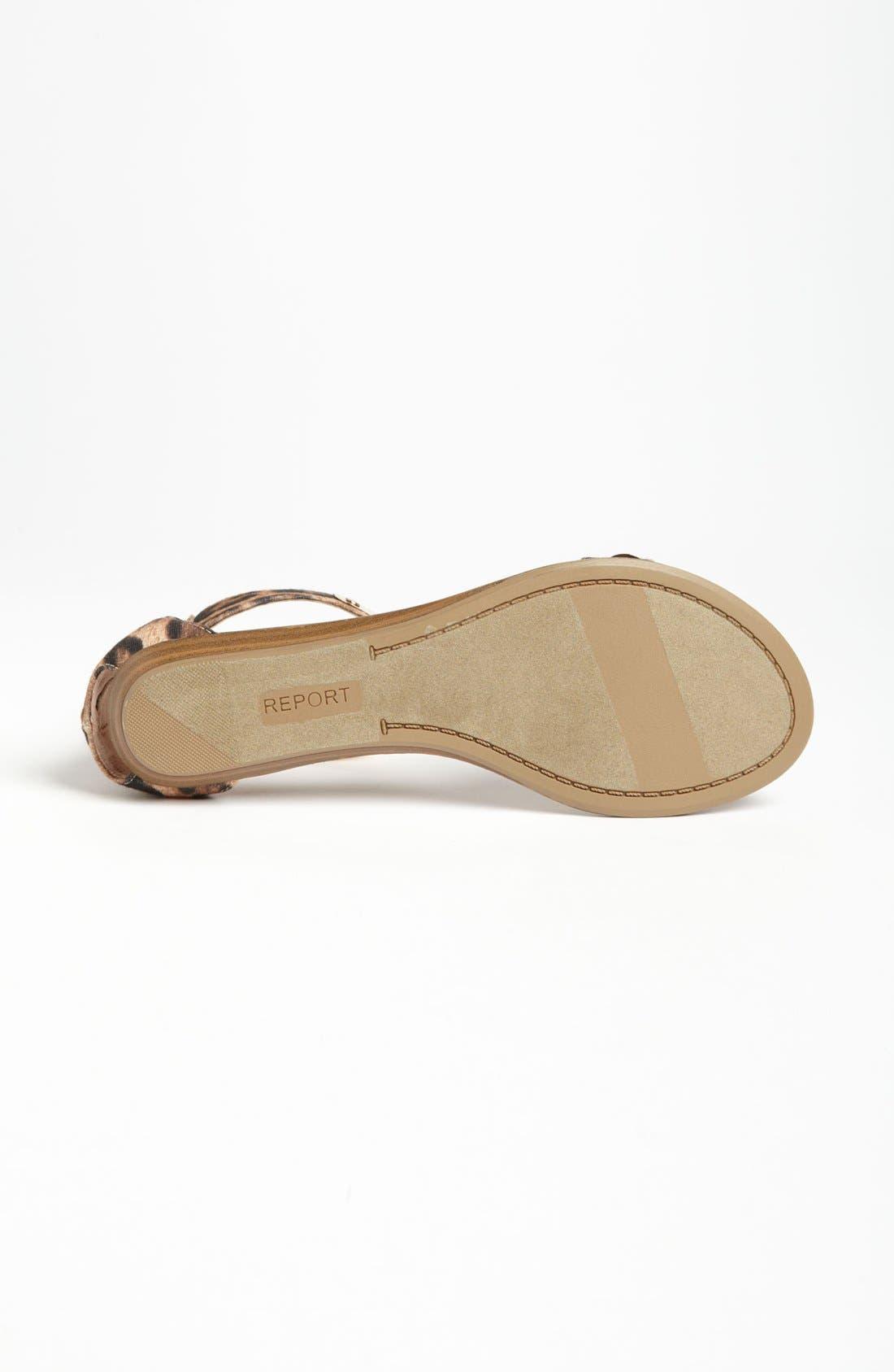 Alternate Image 4  - REPORT Metal Bar Sandal