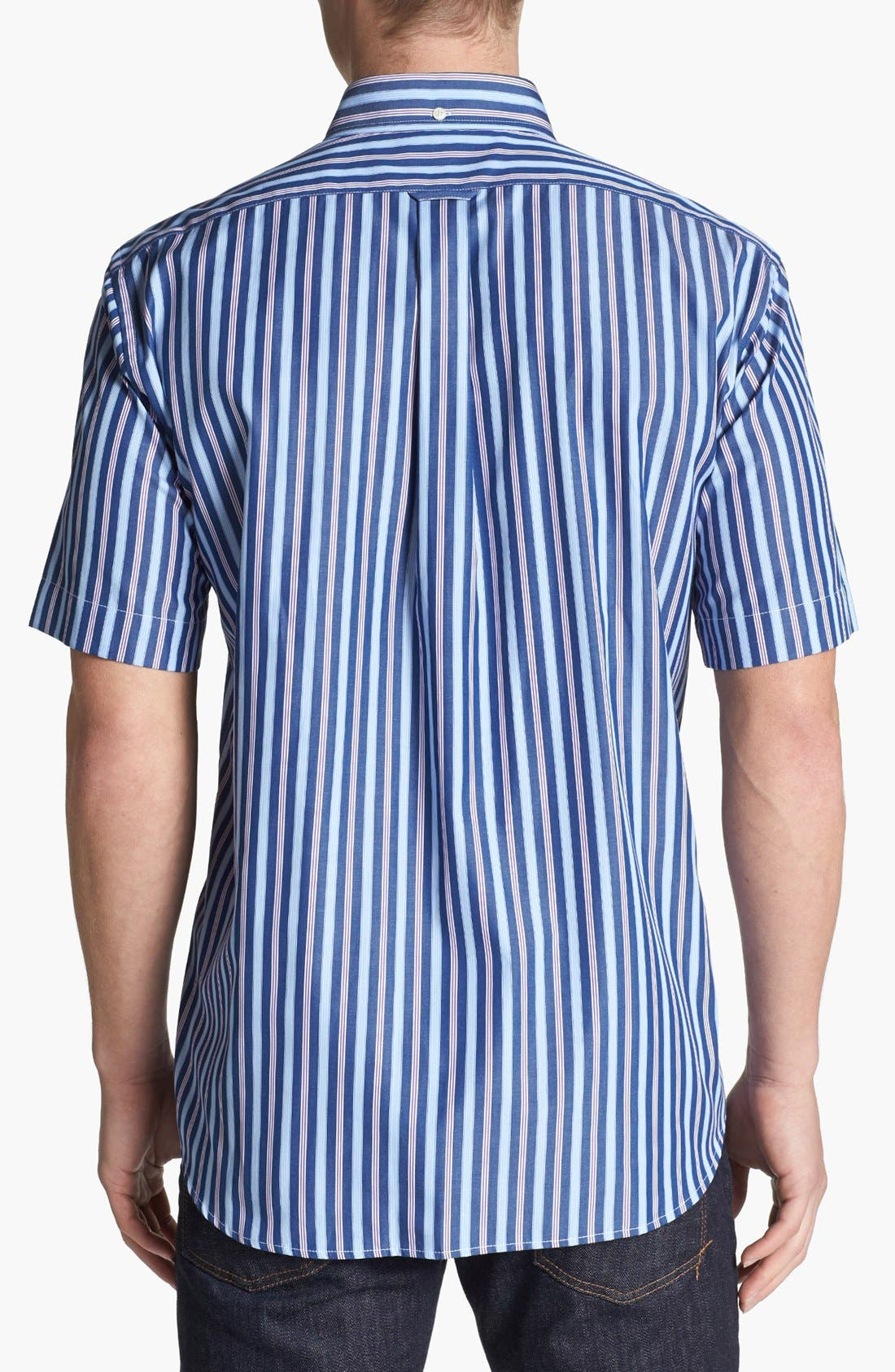 Alternate Image 2  - Façonnable Classique Fit Short Sleeve Sport Shirt