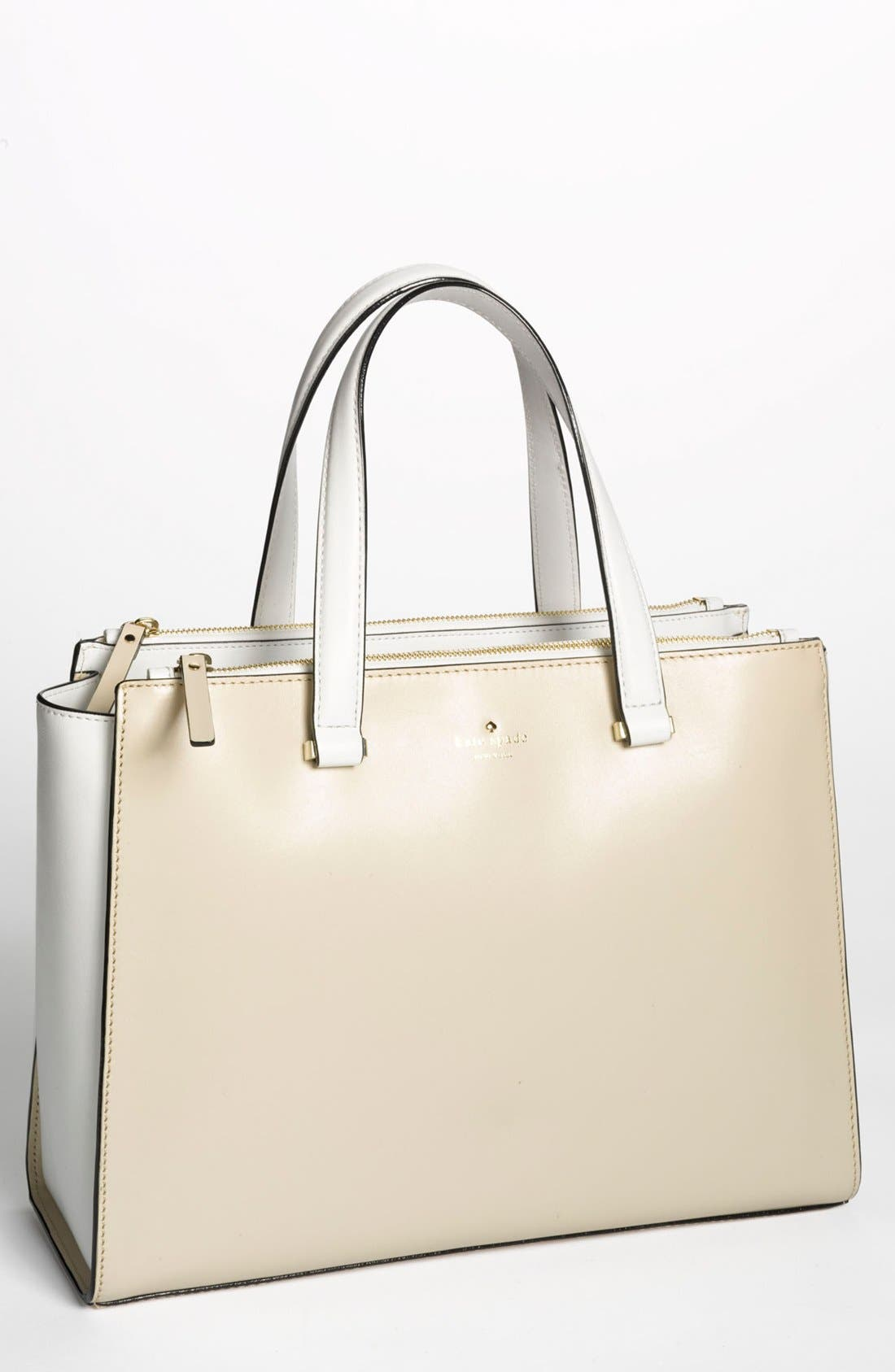 Alternate Image 1 Selected - kate spade new york 'battery park city - evalyn' leather tote