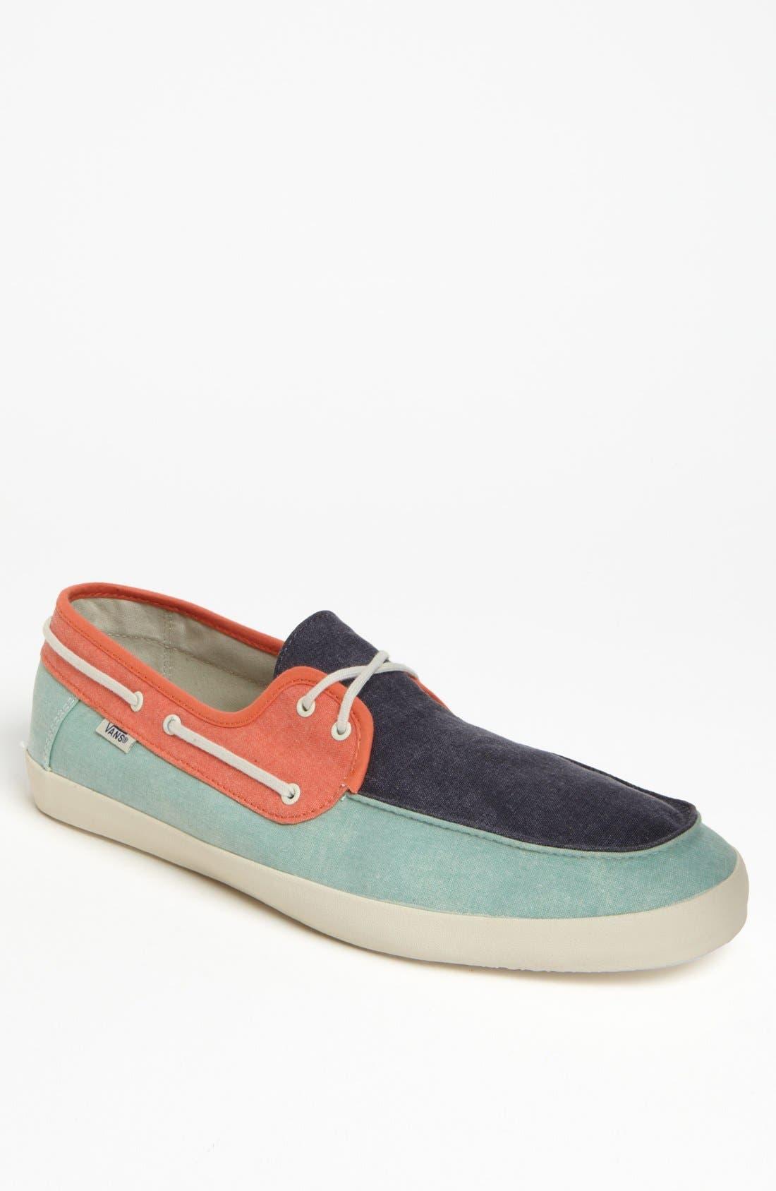 vans boat shoes mens