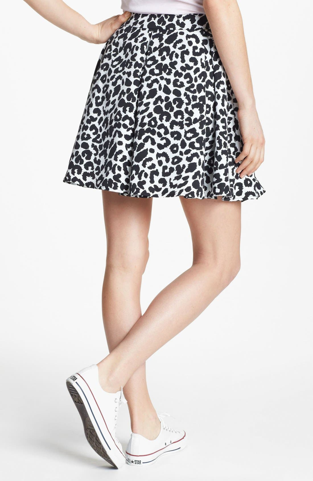 Alternate Image 2  - Collective Concepts Pleated Skater Skirt