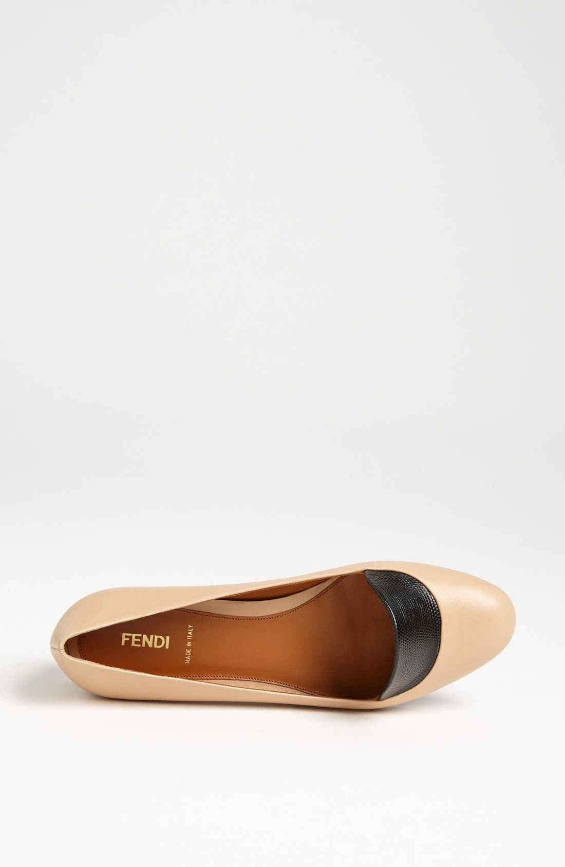 Alternate Image 3  - Fendi 'Anemone' Flat