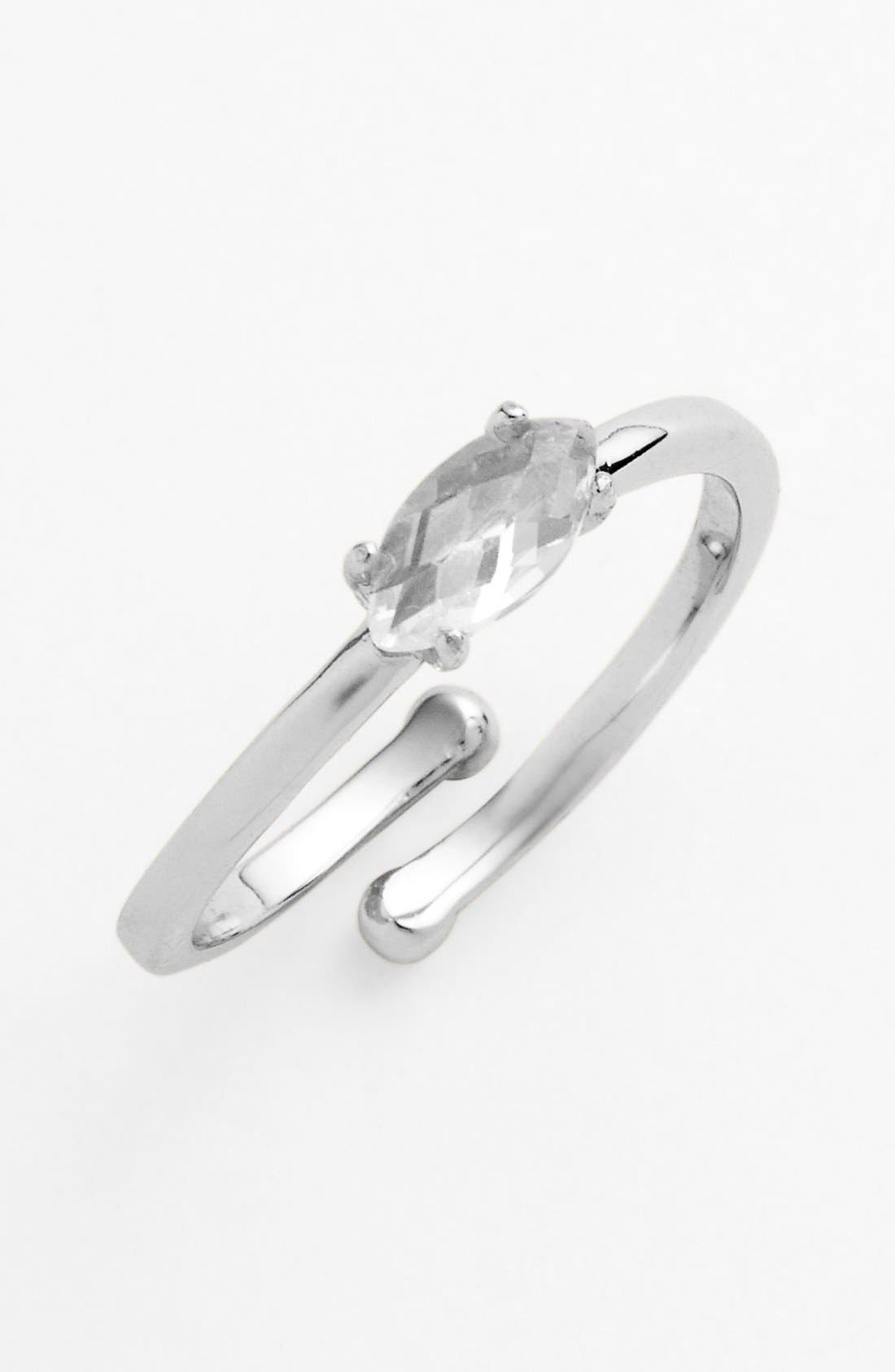 Alternate Image 1 Selected - Ariella Collection Marquise Cut Stone Ring (Nordstrom Exclusive)