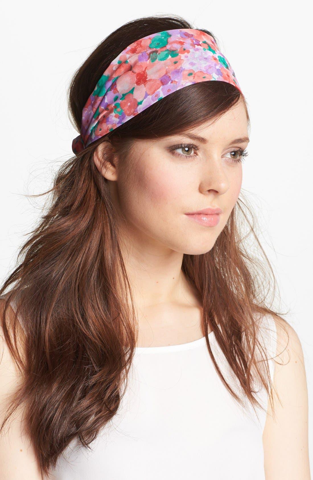 Main Image - Tasha 'Frolicking Floral' Head Wrap