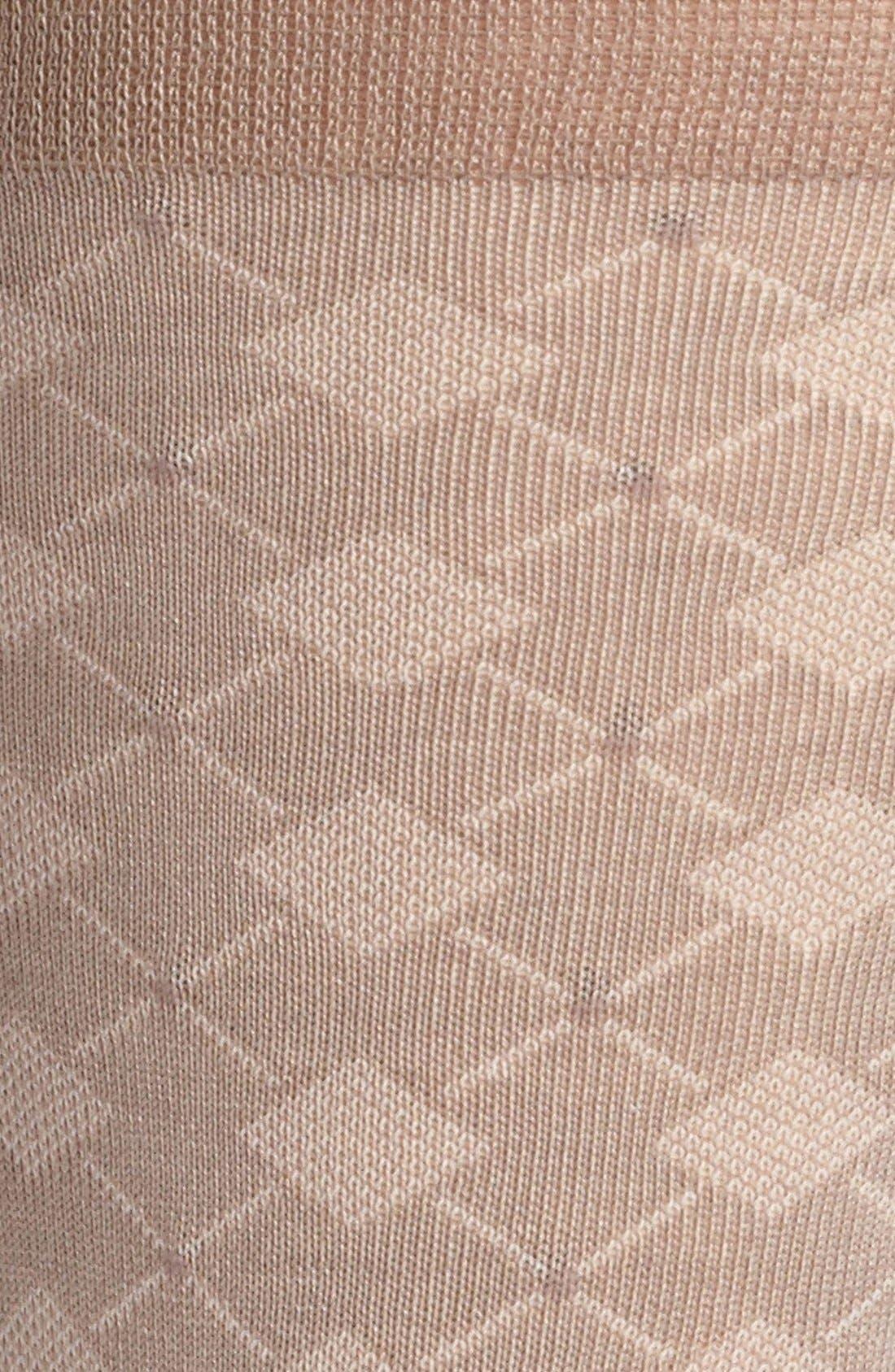 Alternate Image 2  - John W. Nordstrom® Diamond Pattern Socks