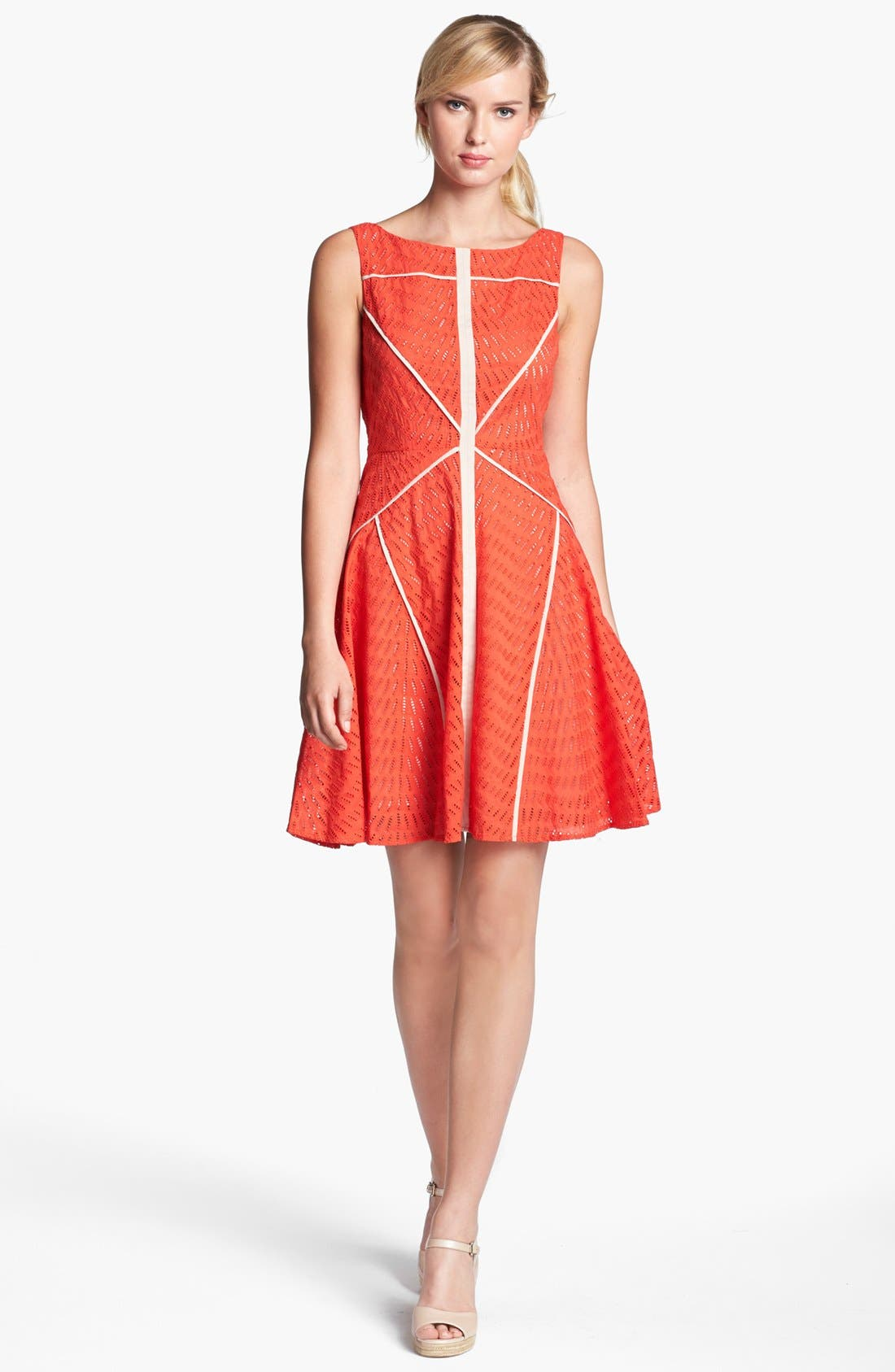 Alternate Image 1 Selected - Vince Camuto Sleeveless Fit & Flare Dress