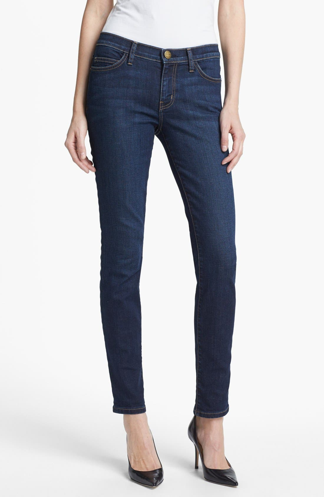 Alternate Image 1 Selected - Current/Elliott 'The Ankle' Skinny Jeans (Nordstrom Exclusive)