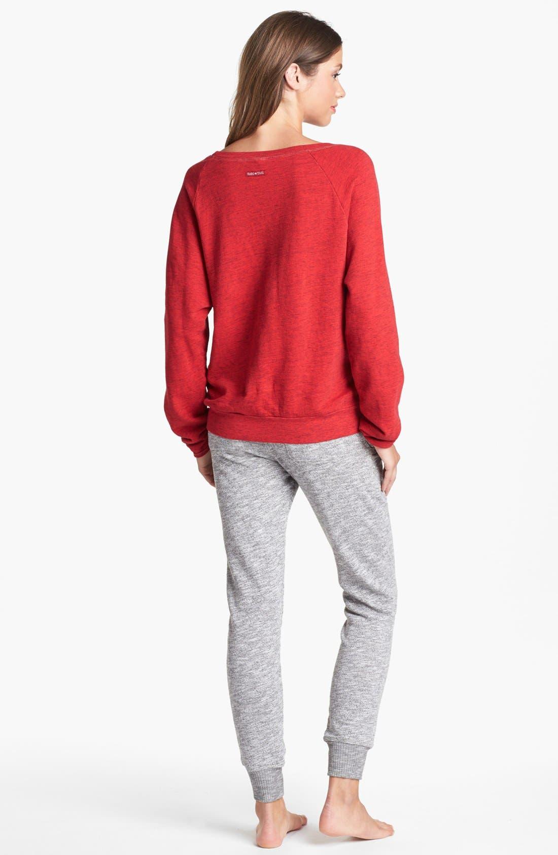 Alternate Image 2  - Hard Tail Sweatshirt & Ankle Pants