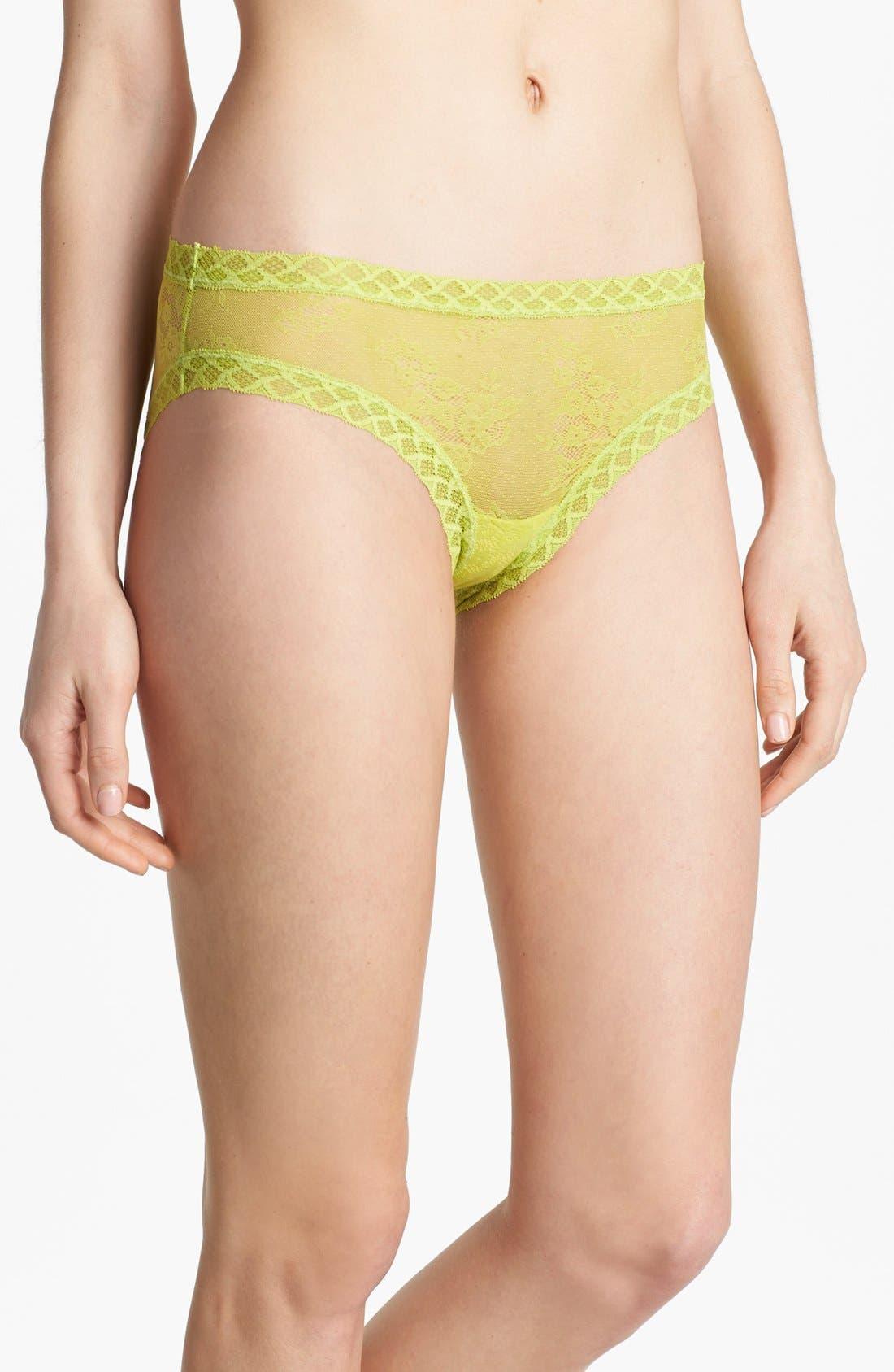 Alternate Image 1 Selected - Natori 'Bliss' Lace Bikini