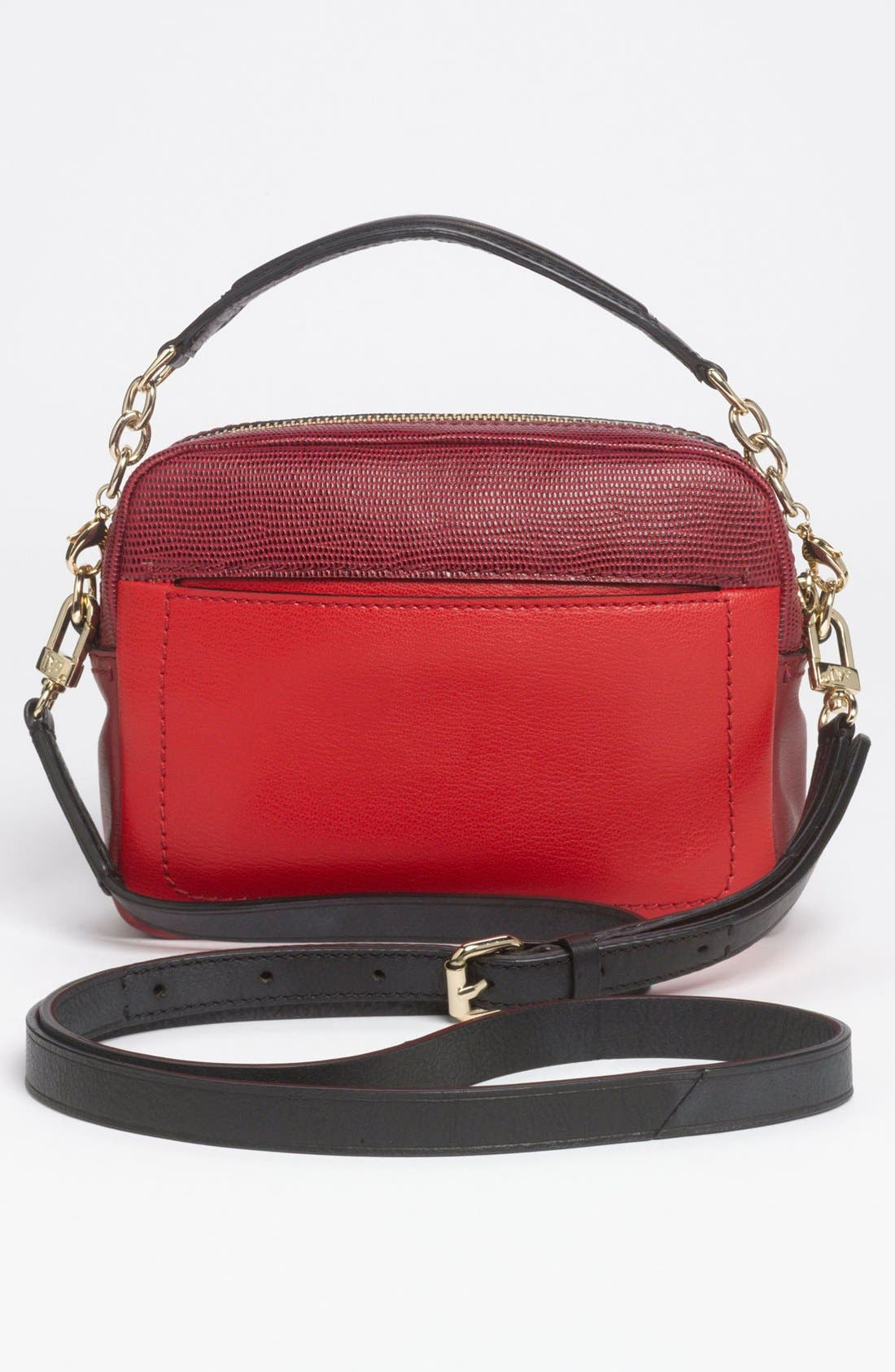 Alternate Image 4  - Diane von Furstenberg 'Milo - Mini' Lizard Embossed Crossbody Bag (Online Only)