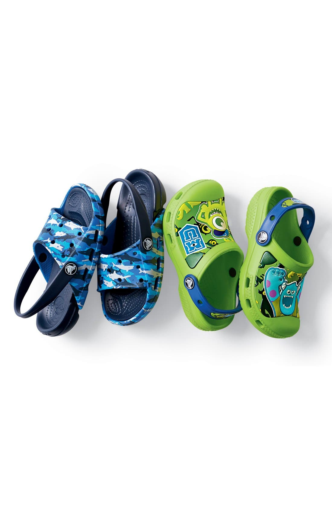 Alternate Image 5  - CROCS™ 'Electro' Sandal (Walker, Toddler & Little Kid)