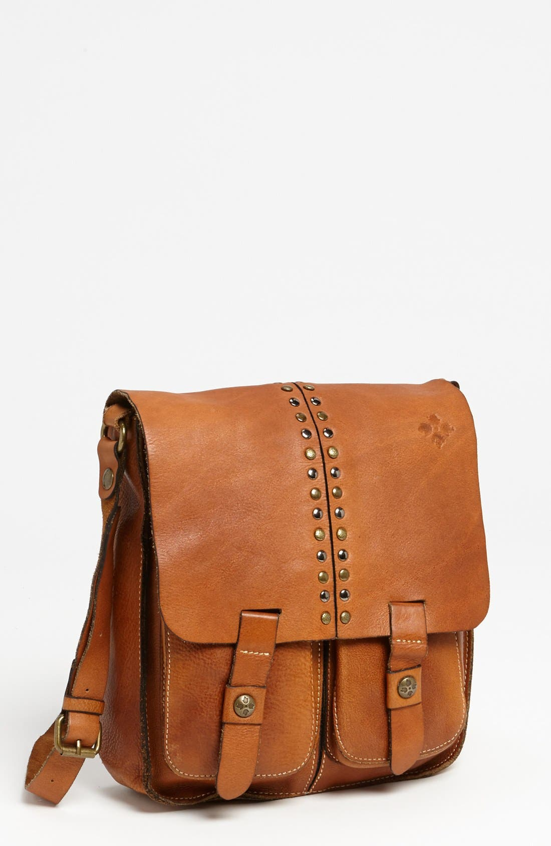 Main Image - Patricia Nash 'Armeno' Leather Messenger Bag