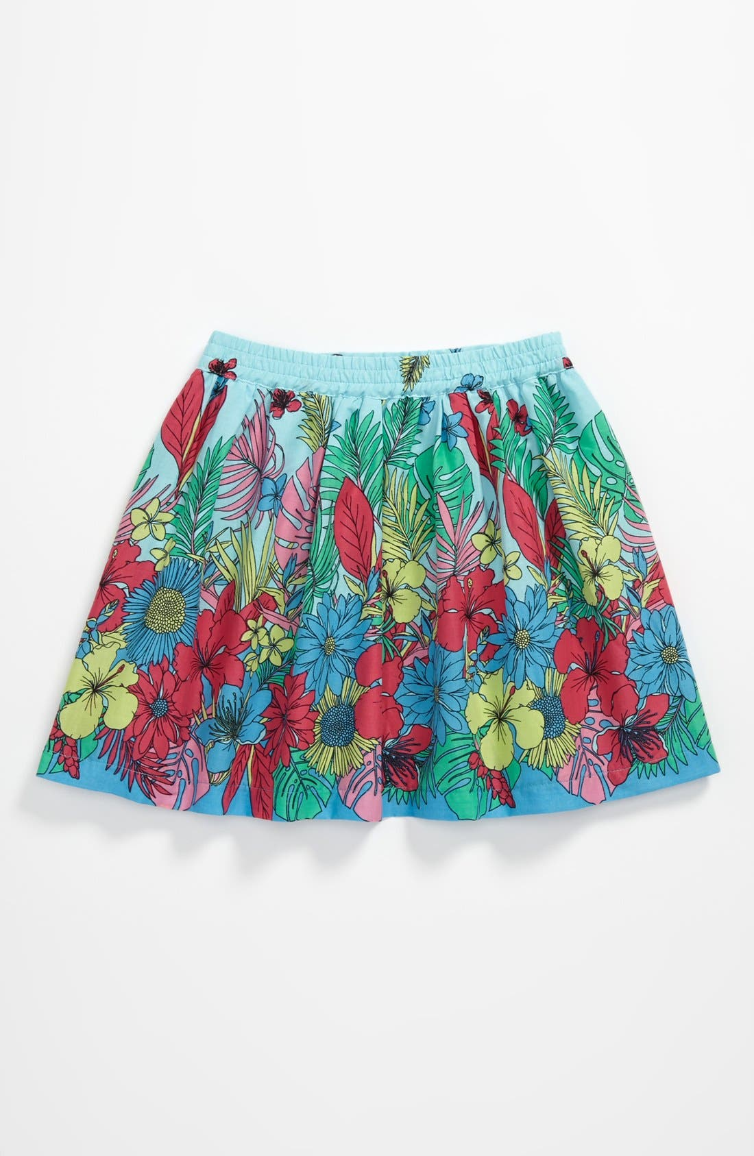 Main Image - Pumpkin Patch Tropical Print Skirt (Baby)
