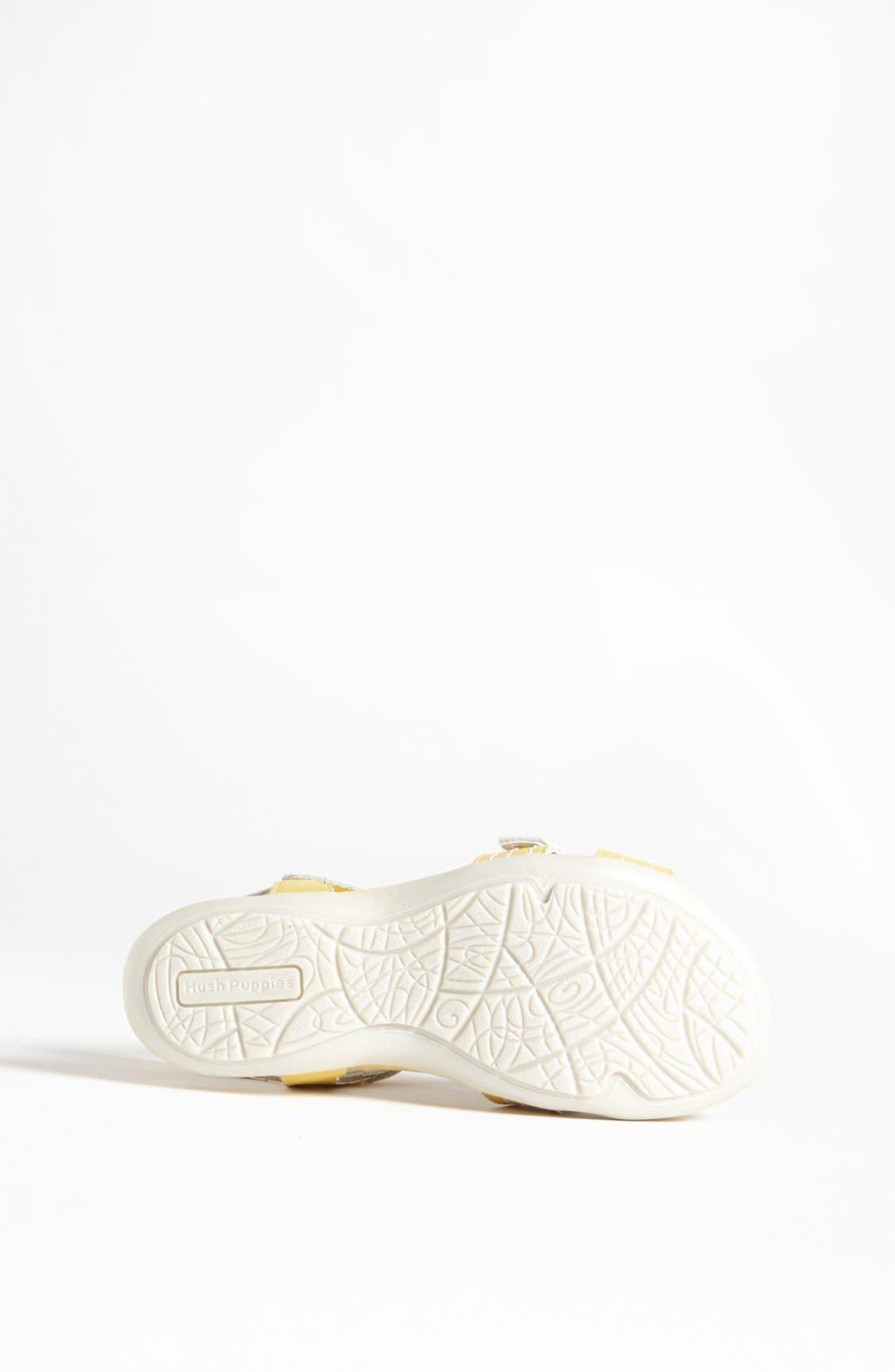 Alternate Image 4  - Hush Puppies® 'Peace' Sandal (Toddler, Little Kid & Big Kid)