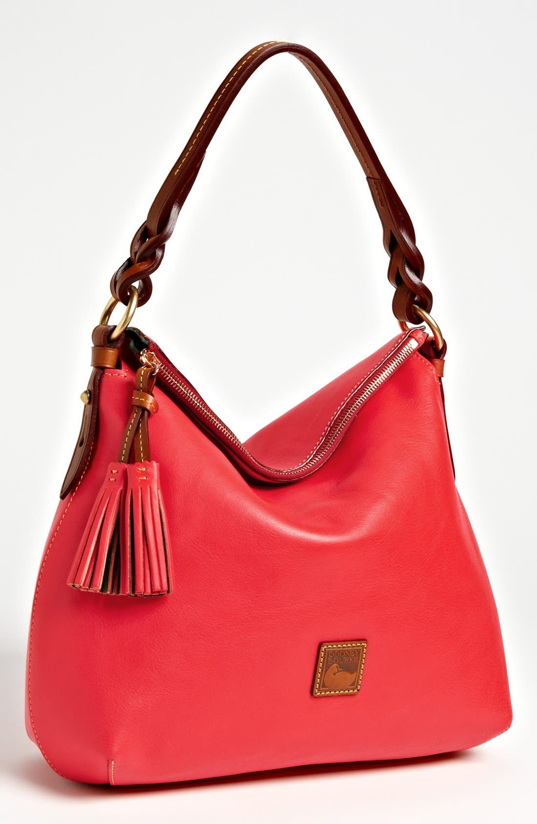 Alternate Image 1 Selected - Dooney & Bourke 'Twist Strap' Hobo, Large