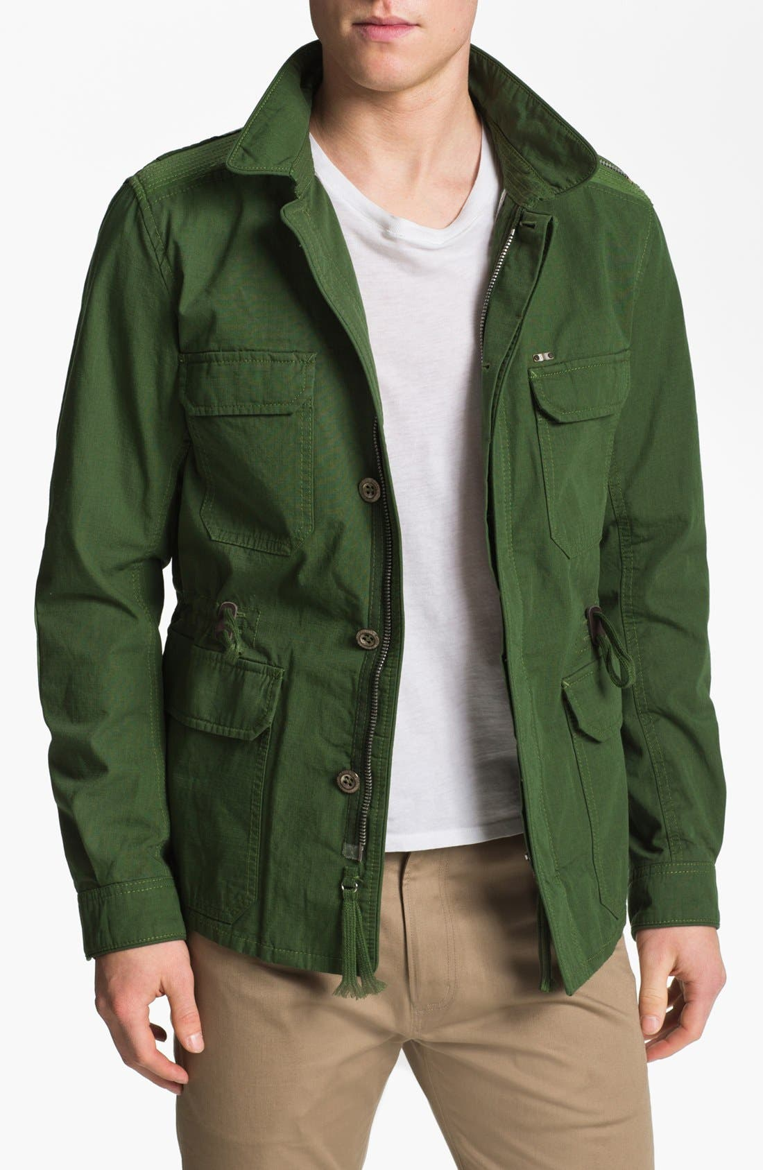 Alternate Image 1 Selected - DIESEL® 'Jarmatocer' Ripstop Field Jacket