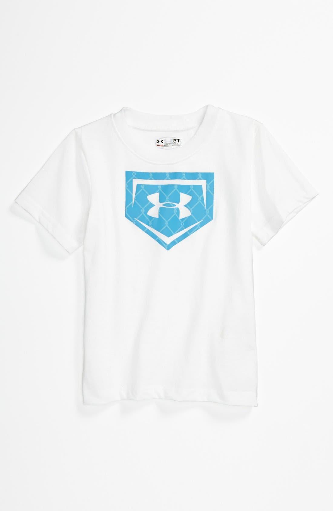 Alternate Image 1 Selected - Under Armour Logo T-Shirt (Toddler)