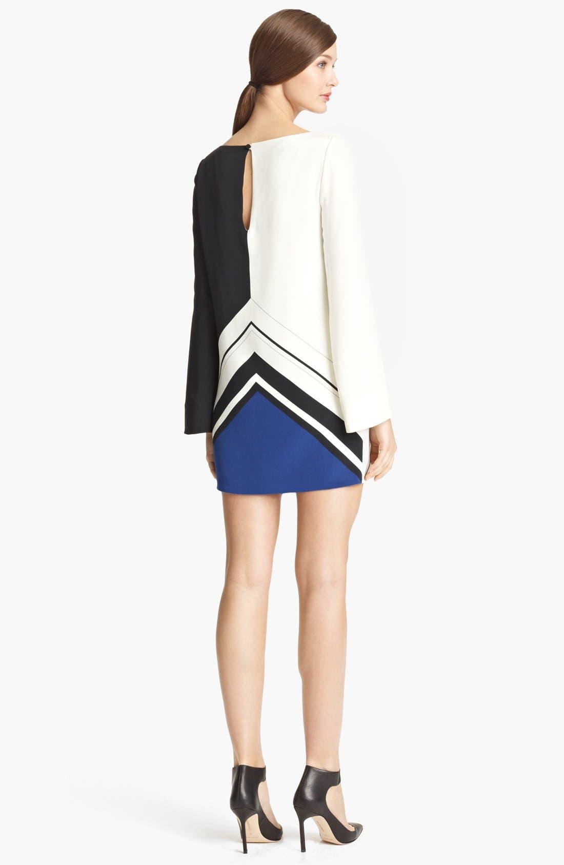 Alternate Image 2  - Emilio Pucci 'Jazz' Print Silk Tunic Dress