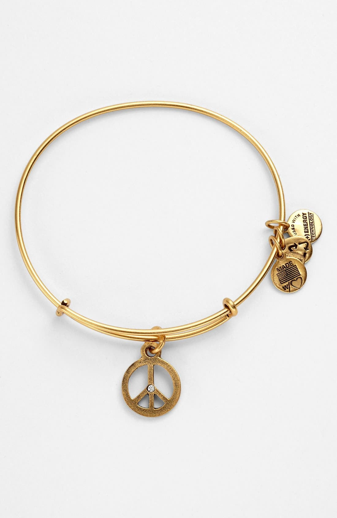 Alternate Image 1 Selected - Alex and Ani 'World Peace' Expandable Wire Bangle