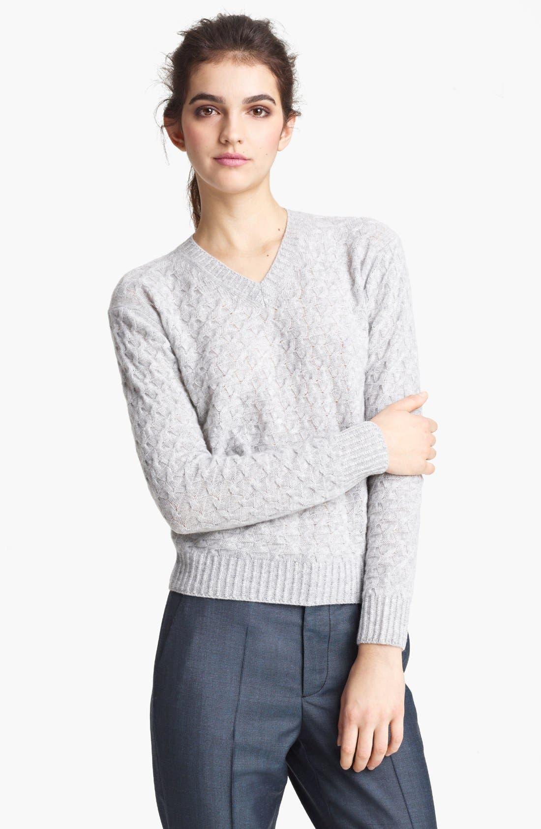 Alternate Image 1 Selected - MARC JACOBS V-Neck Cashmere Sweater
