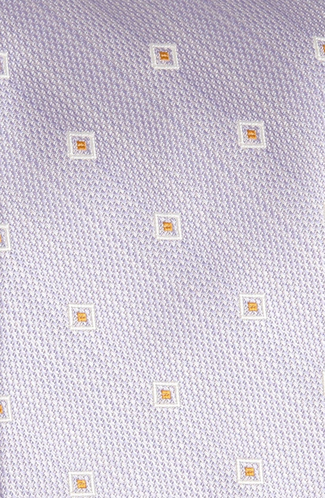 Woven Tie,                             Alternate thumbnail 2, color,                             Lilac