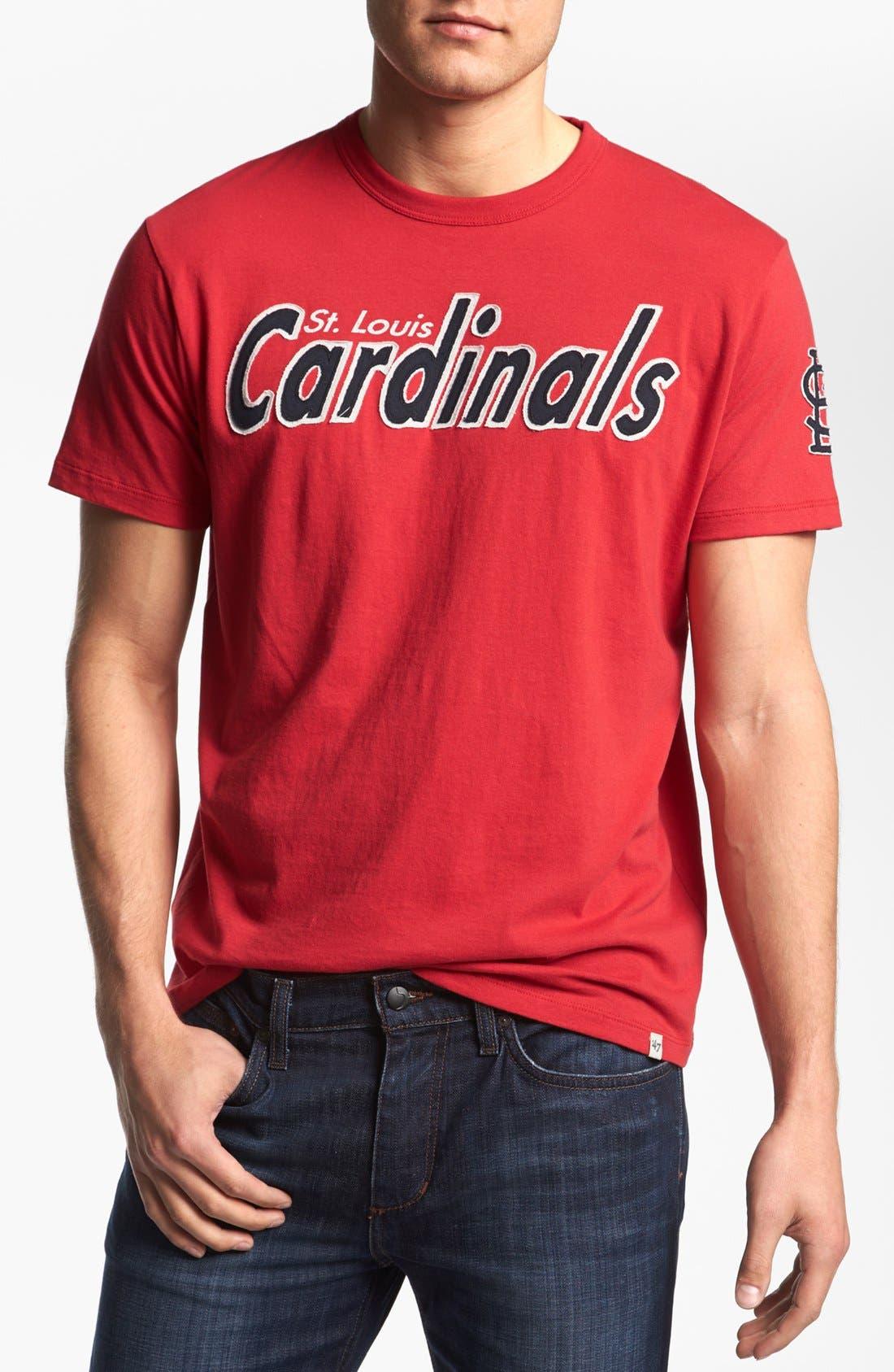 Alternate Image 1 Selected - '47 'St. Louis Cardinals - Fieldhouse' T-Shirt