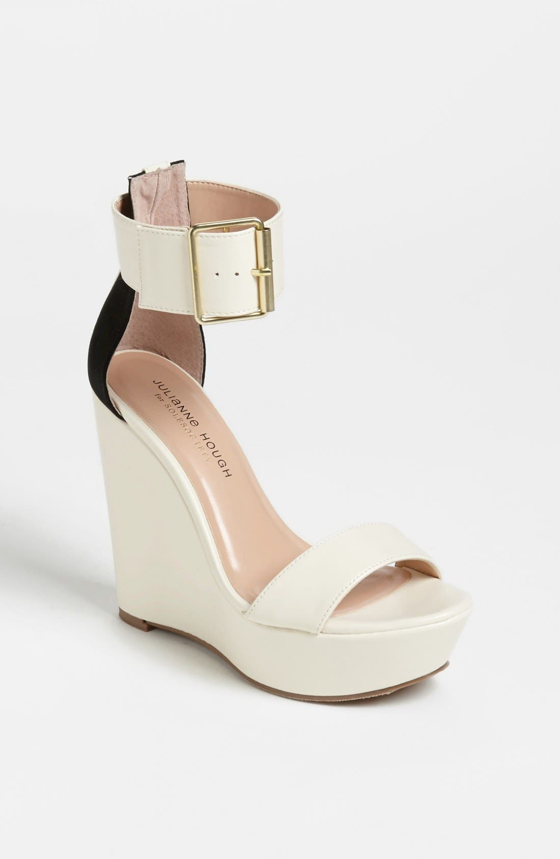 Alternate Image 1 Selected - Julianne Hough for Sole Society 'Tate' Wedge Sandal