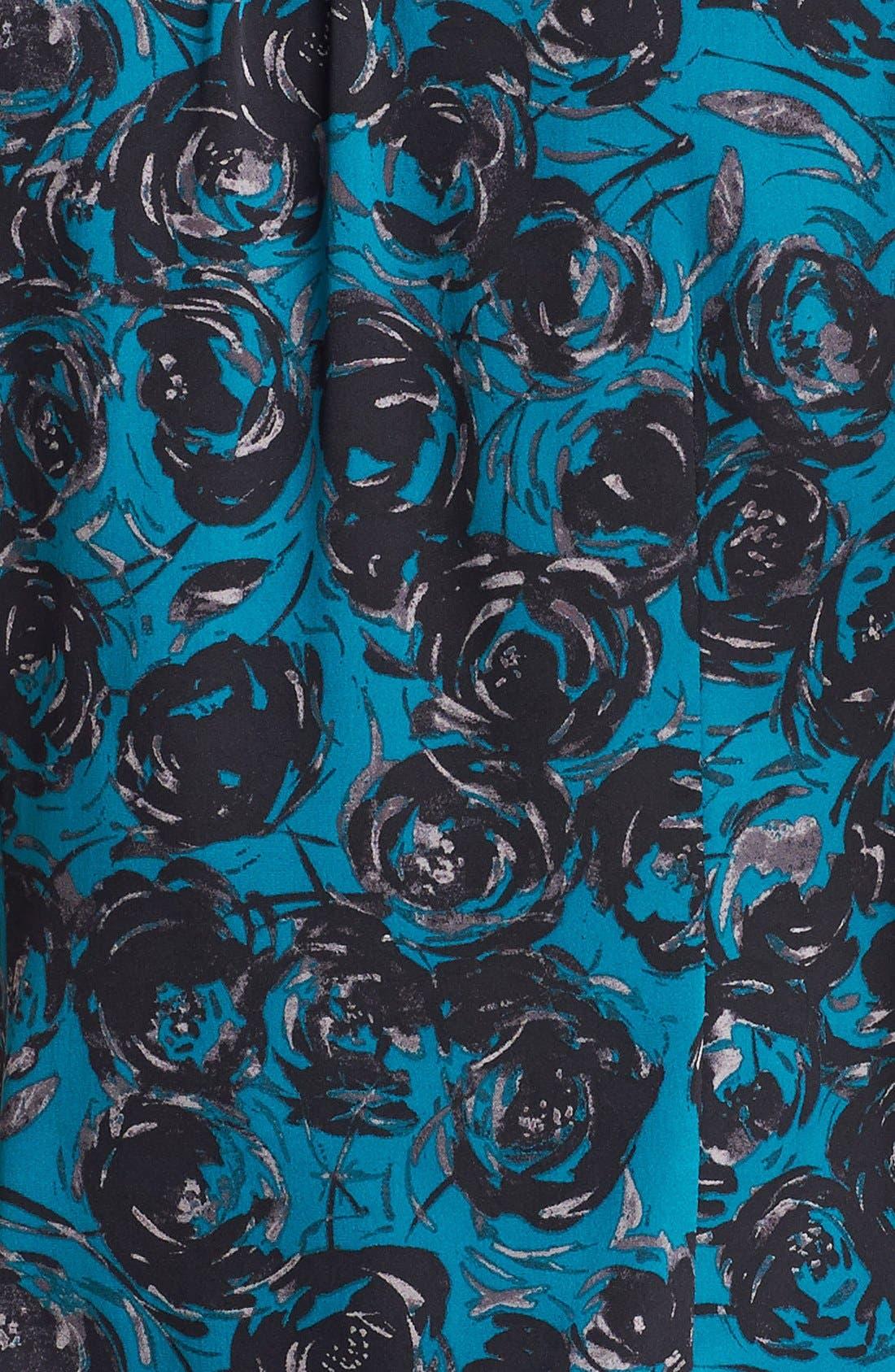 Alternate Image 4  - Classiques Entier® Tie Neck Stretch Silk Blouse