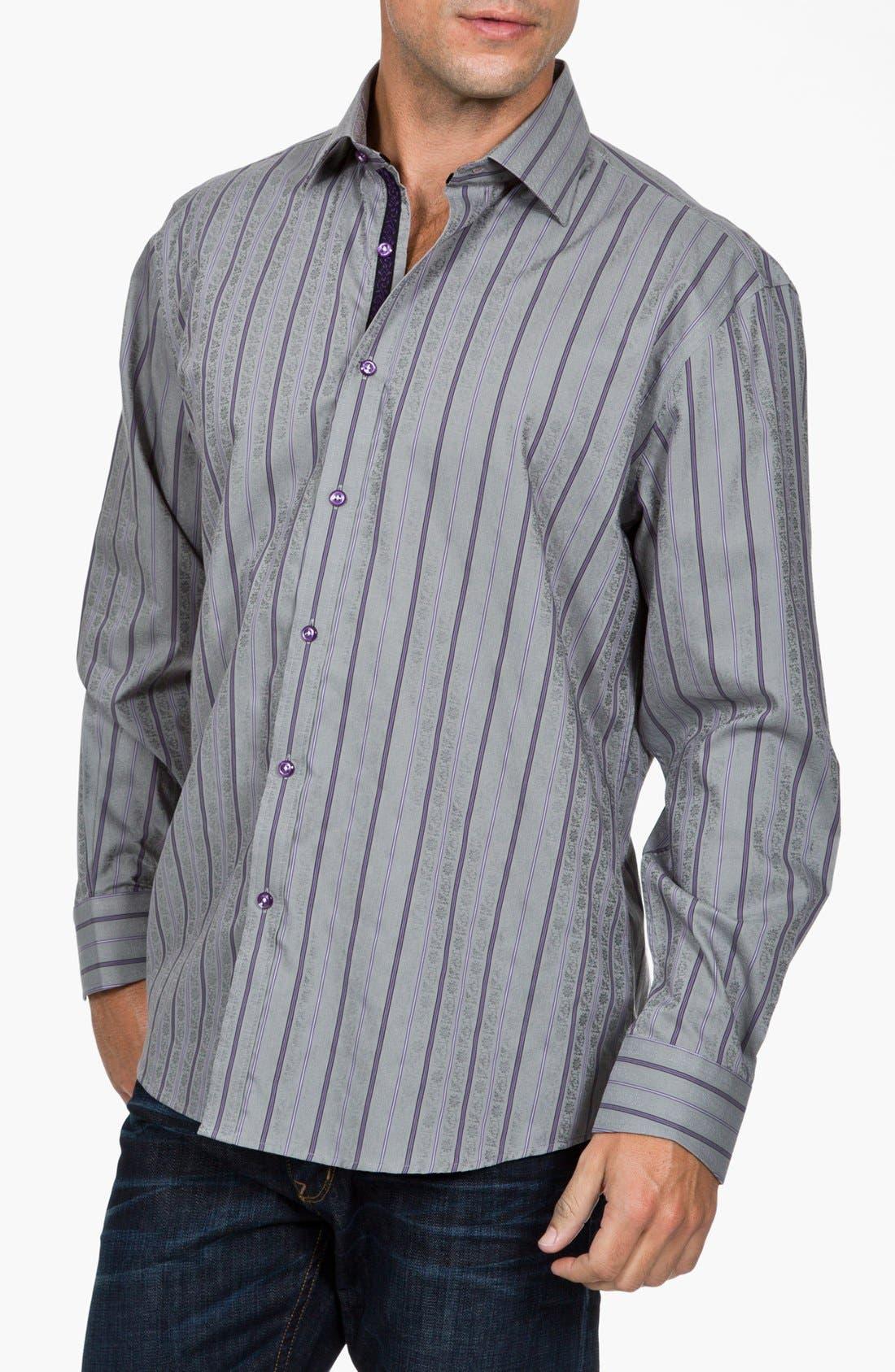 Alternate Image 1 Selected - Zagiri 'Mans' Regular Fit Sport Shirt