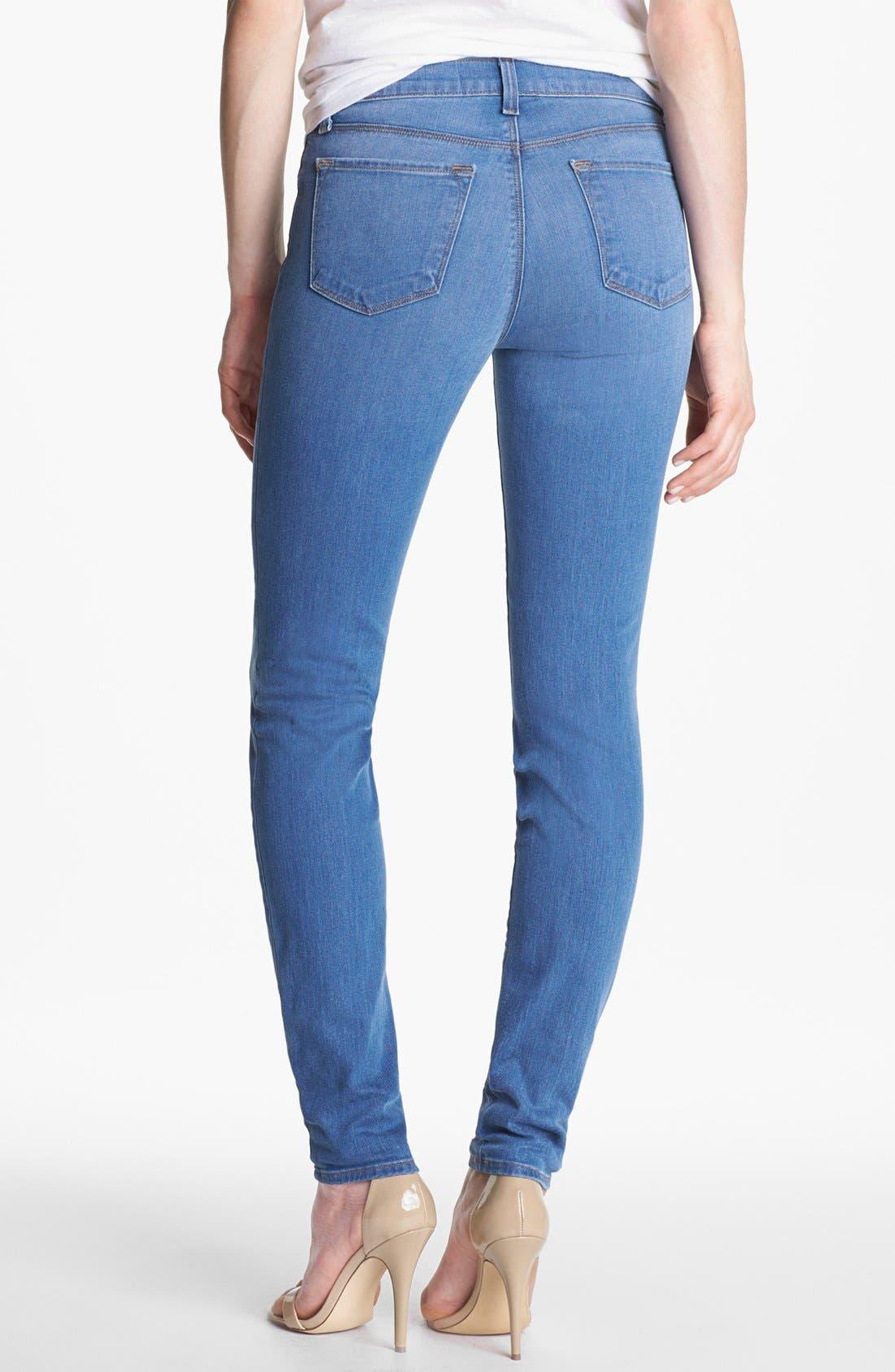 Alternate Image 2  - J Brand '620' Mid-Rise Skinny Jeans (Lucas)