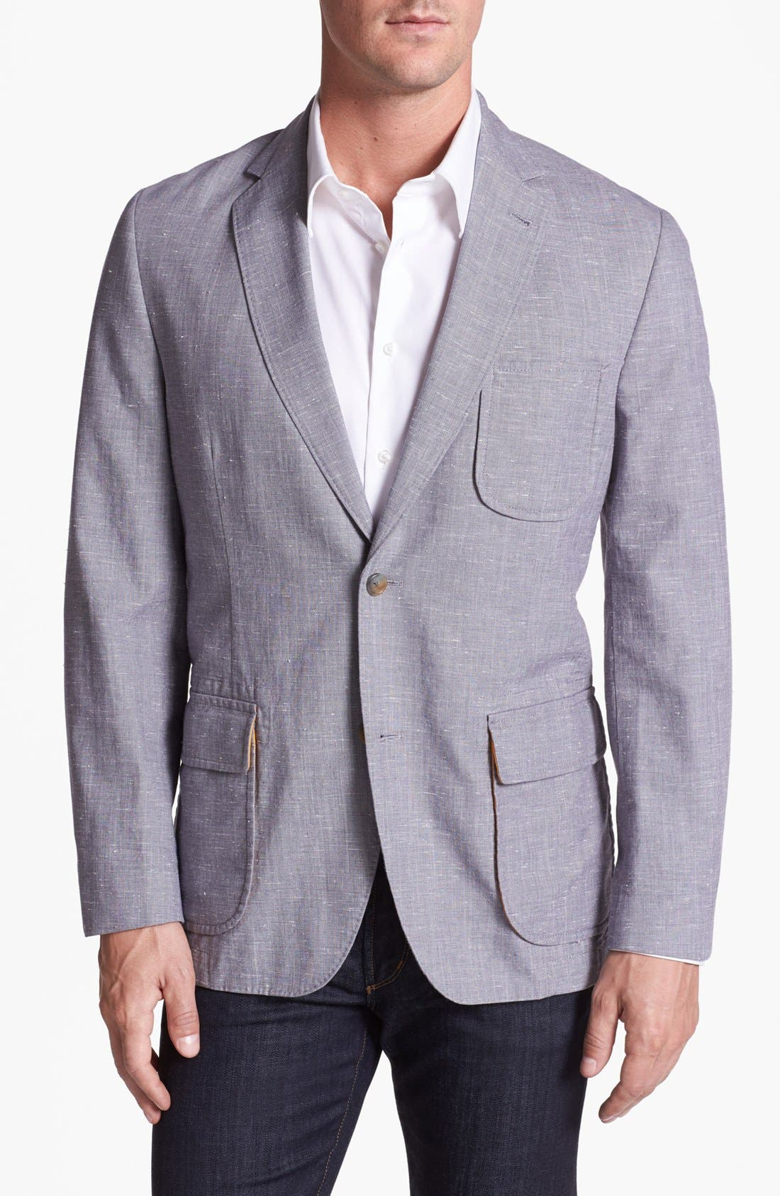 Alternate Image 1 Selected - Kroon Cotton Sportcoat