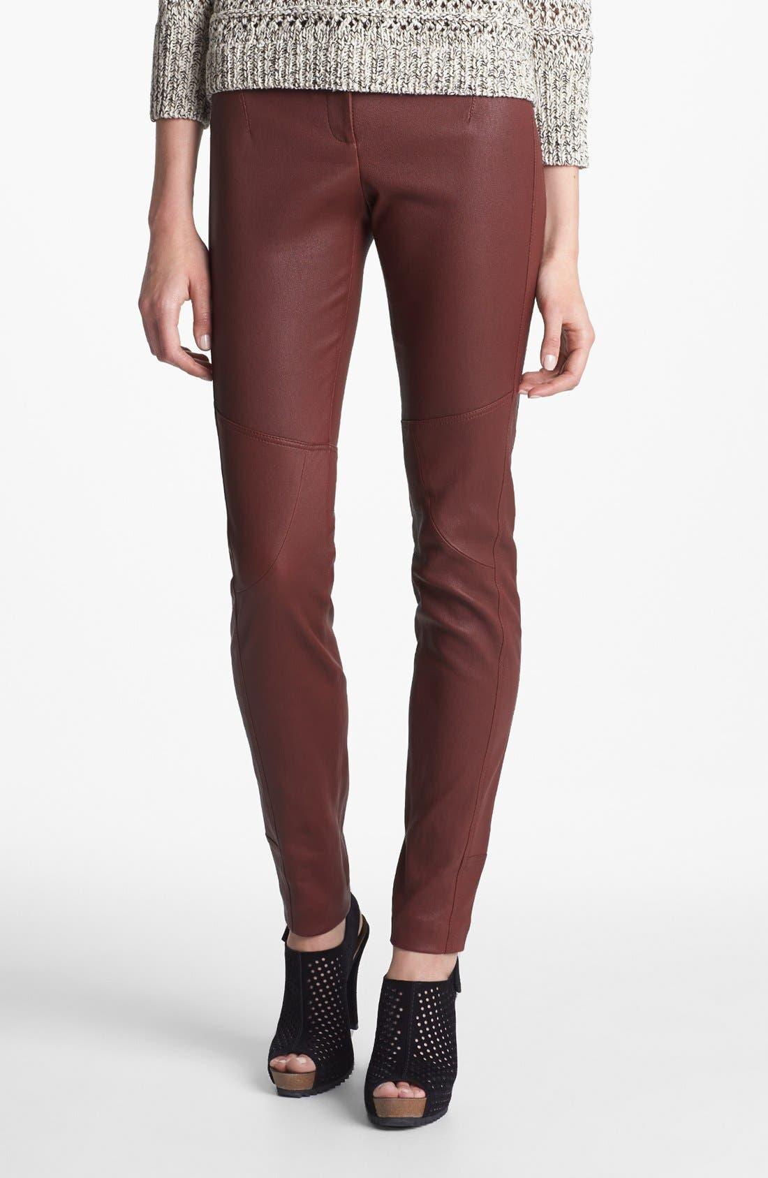 Main Image - Diane von Furstenberg 'Liberty' Leather Pants